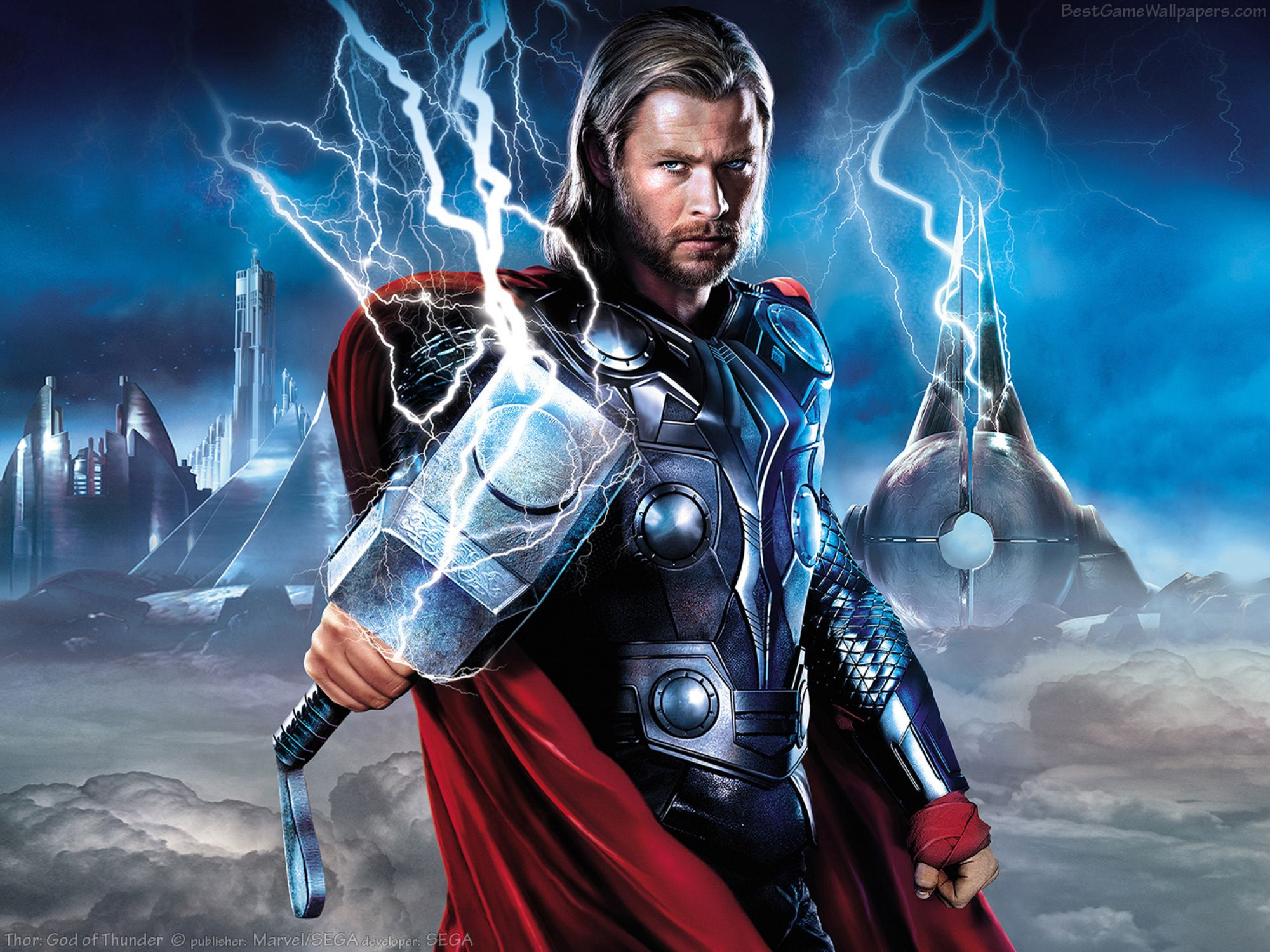 Thor God of Thunder wallpapers – Video Games Blogger