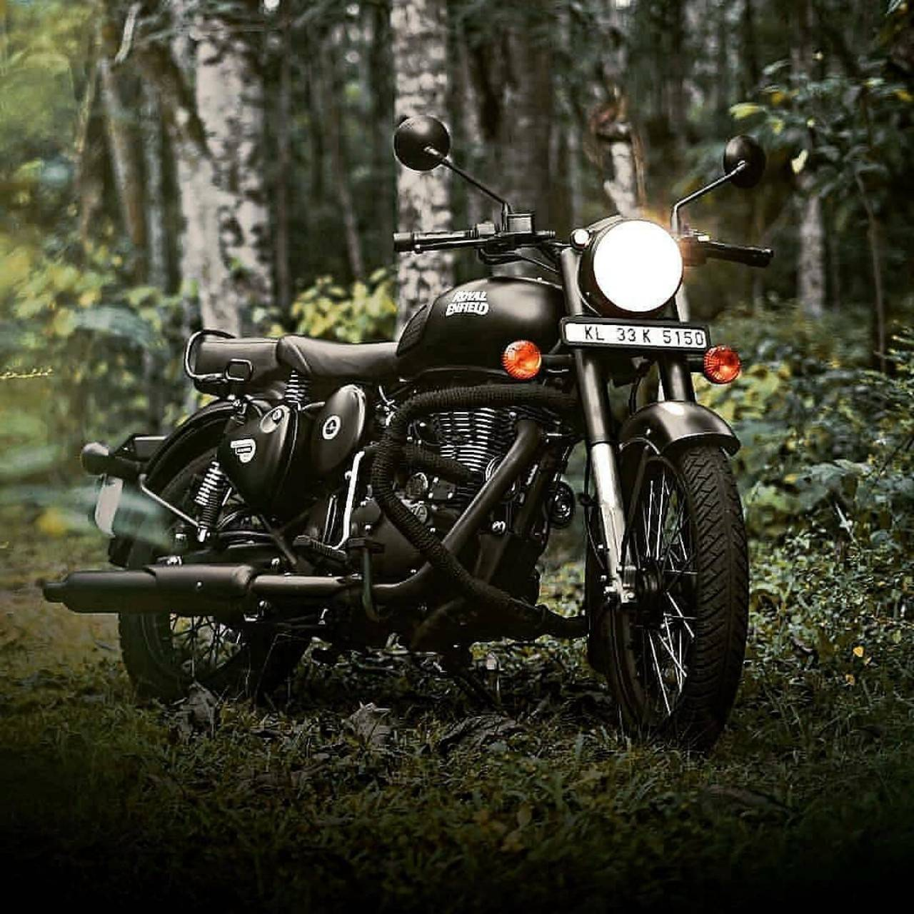 Royal Enfield Stealth Black Wallpapers Wallpaper Cave