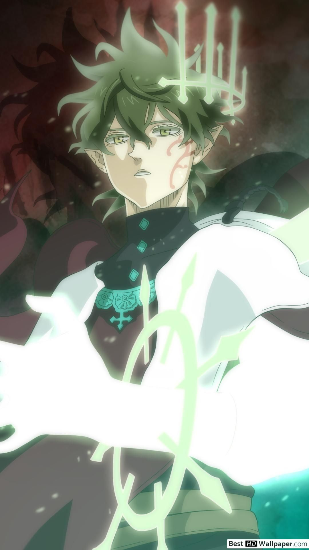 Black Clover Yuno Hd Android Wallpapers Wallpaper Cave