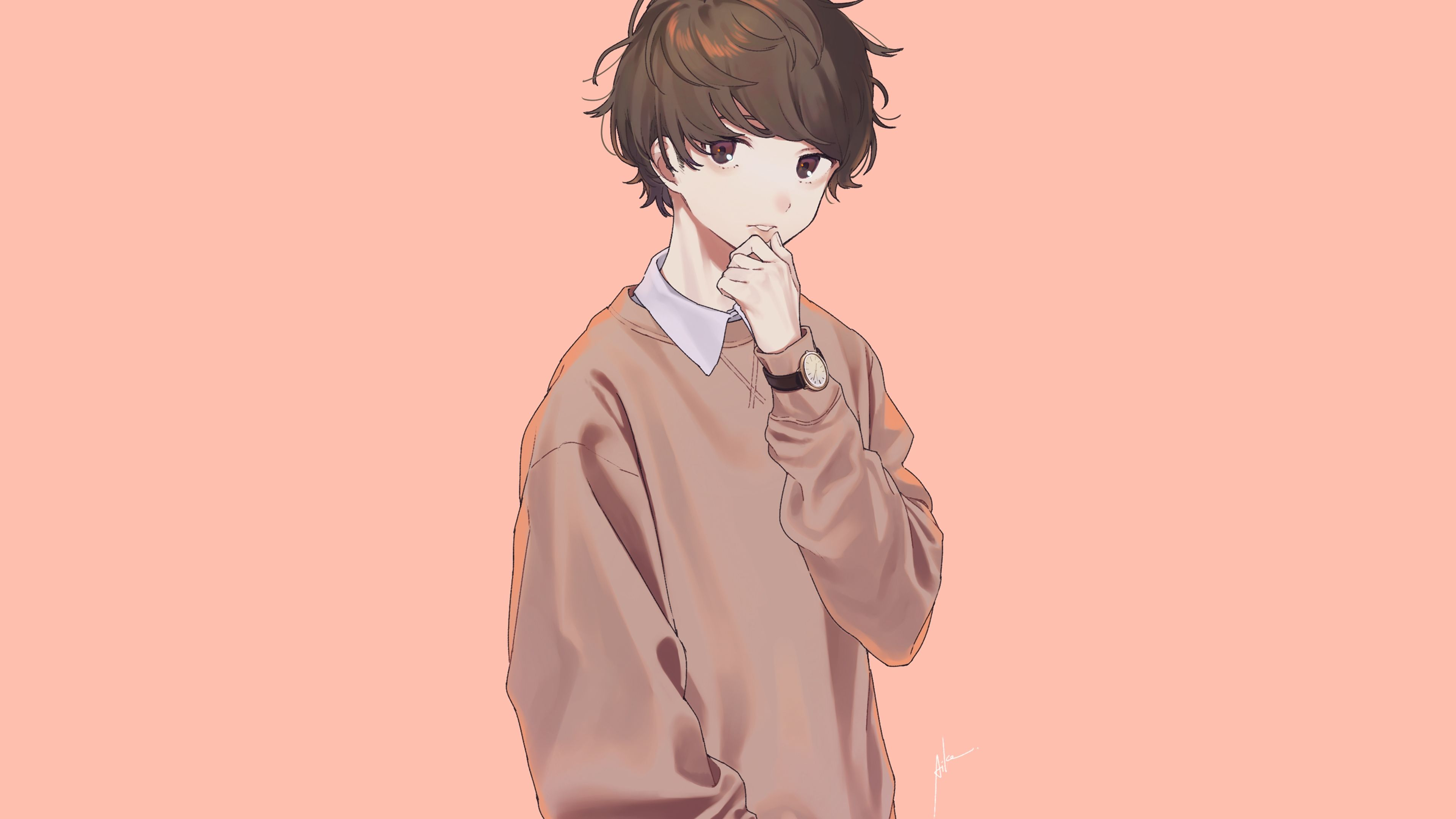 Wolf Boy Hoodie Anime Wallpapers Wallpaper Cave