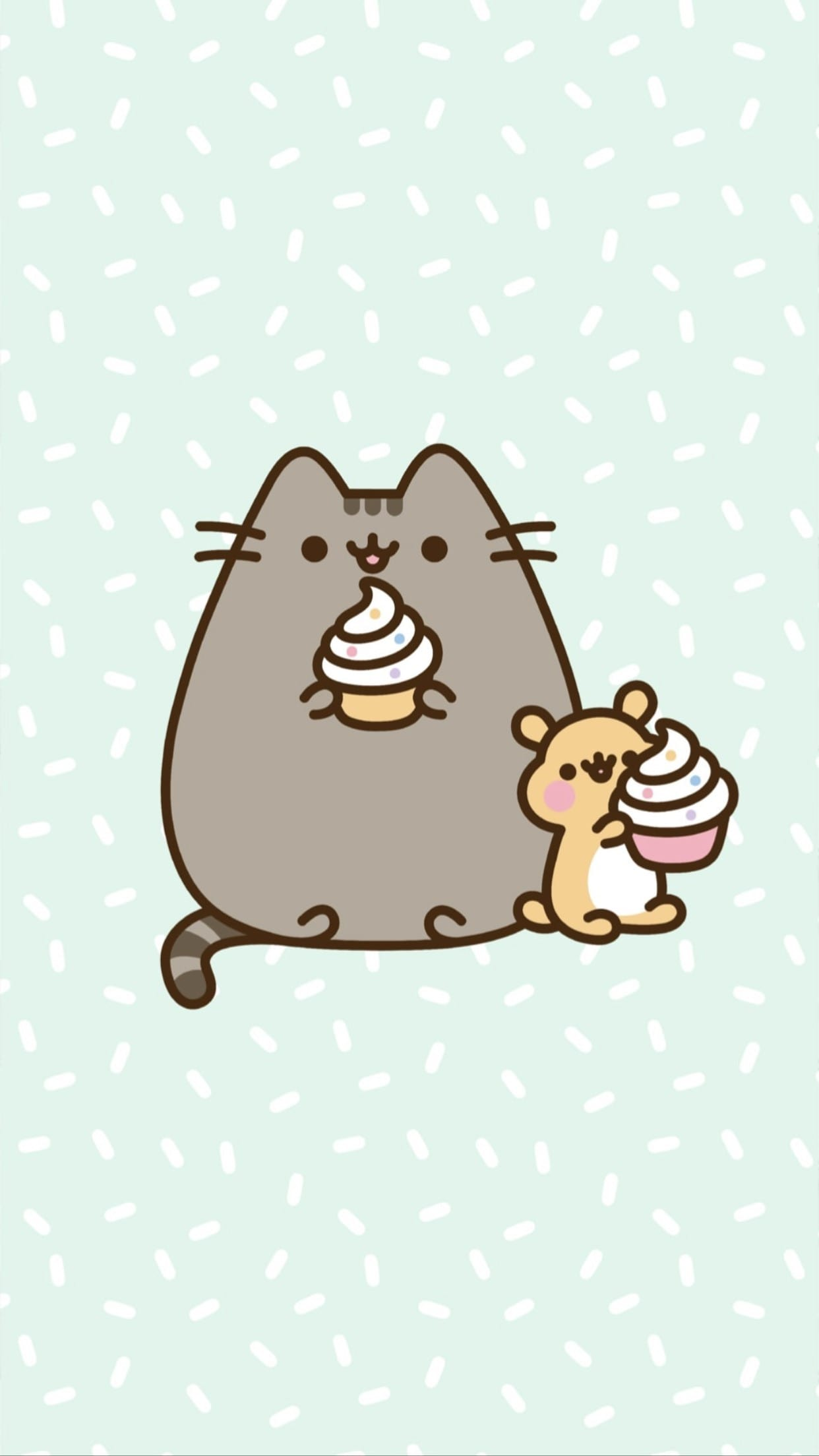 Pusheen Iphone Hd Wallpapers Wallpaper Cave