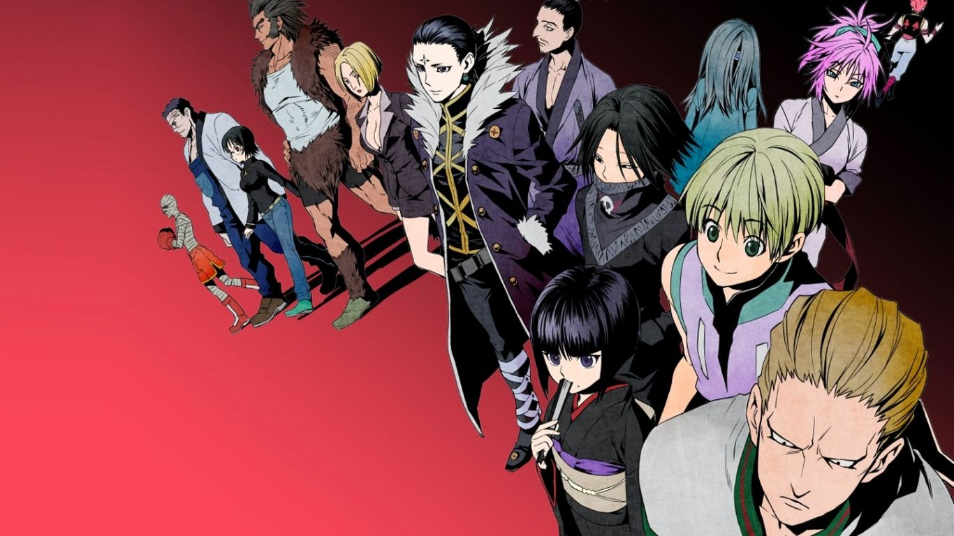 Free download phantom troupe wallpapers hd anime hunter x hunter
