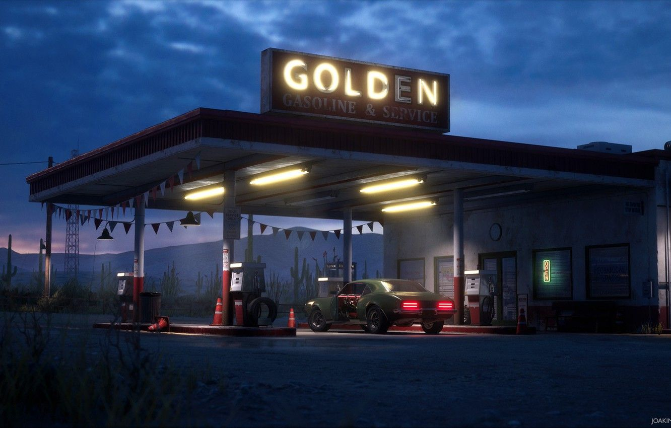 Gas Station Wallpapers Wallpaper Cave