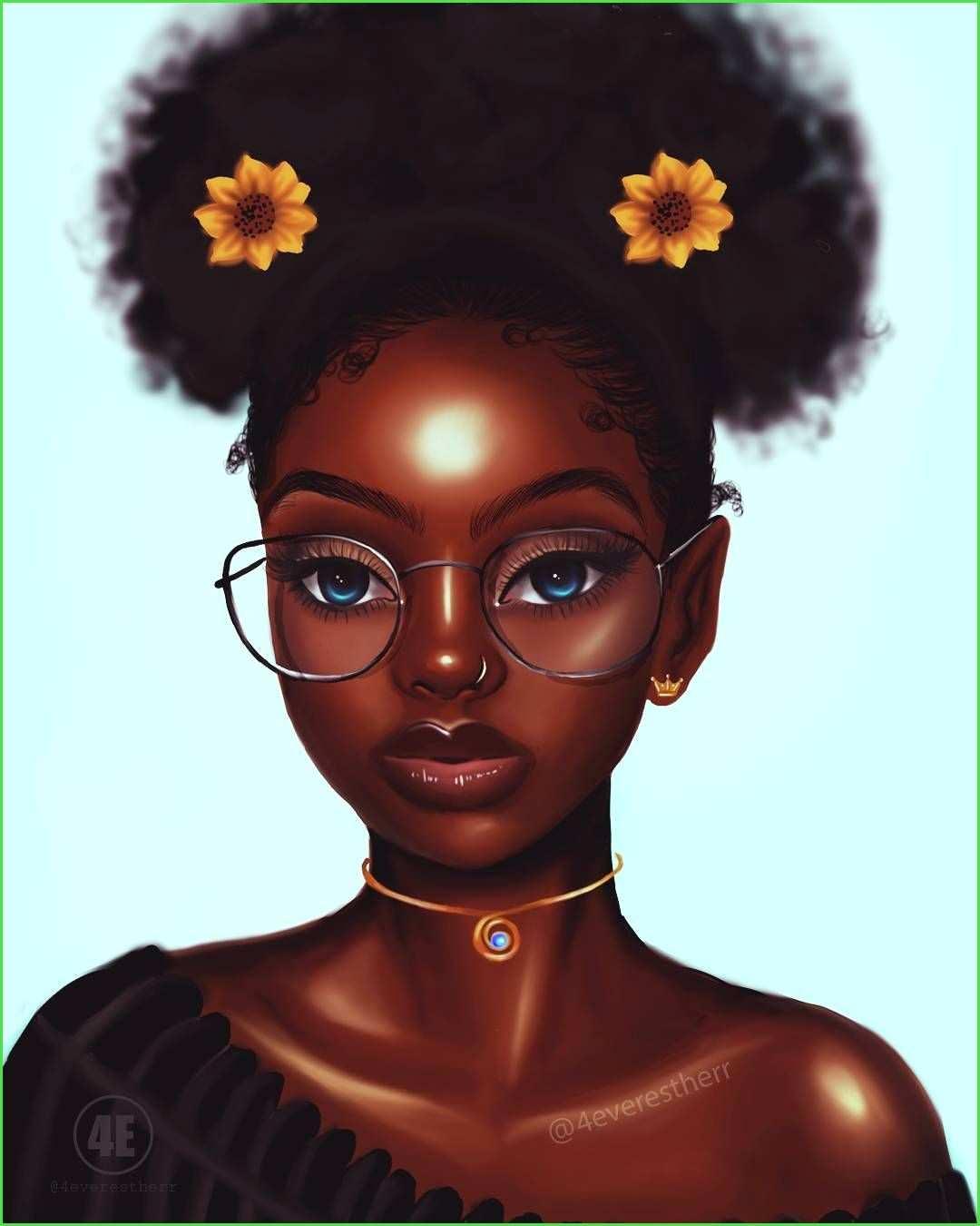 Black girl cartoon images