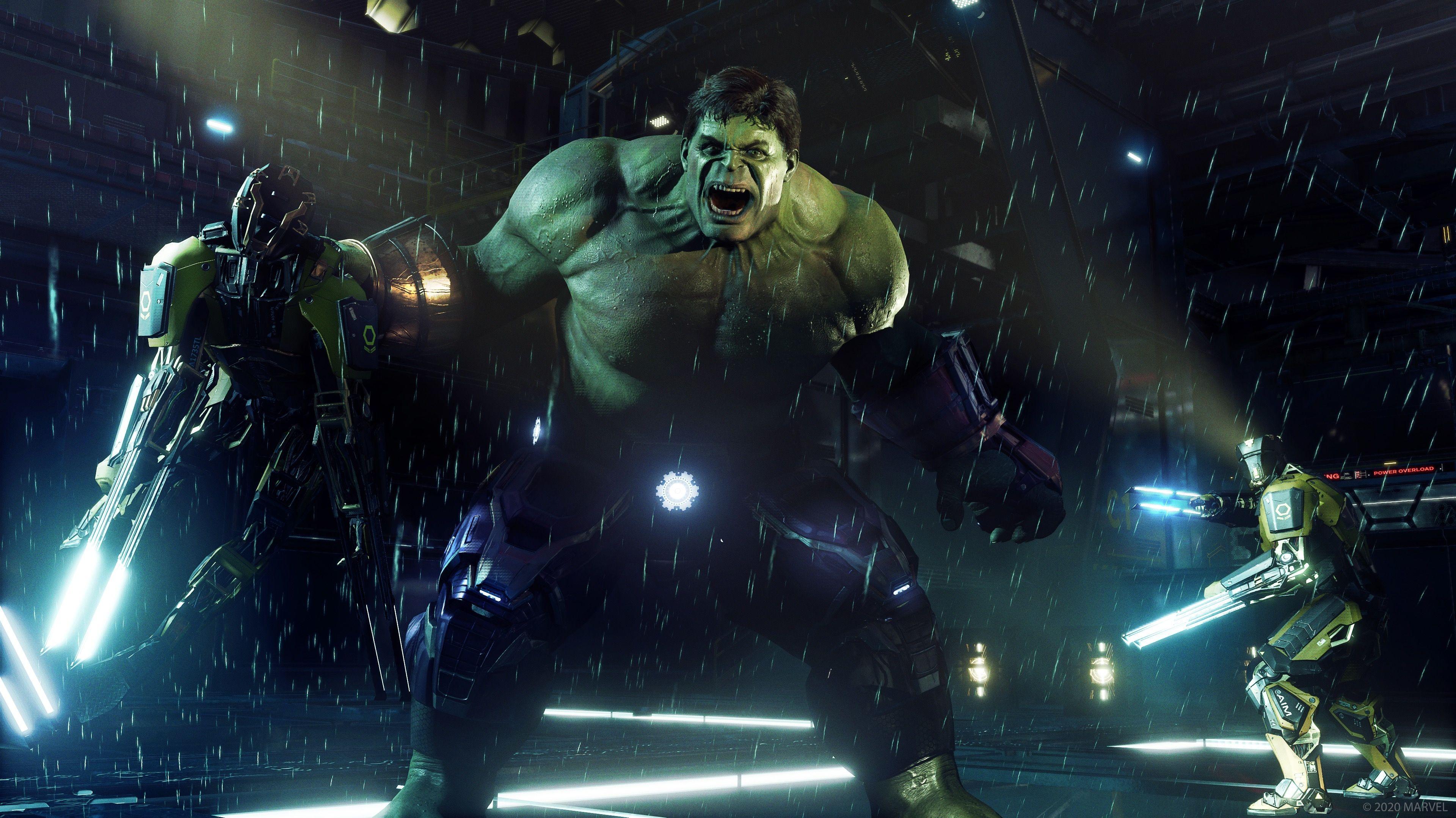 Cool Hulk Game Wallpaper