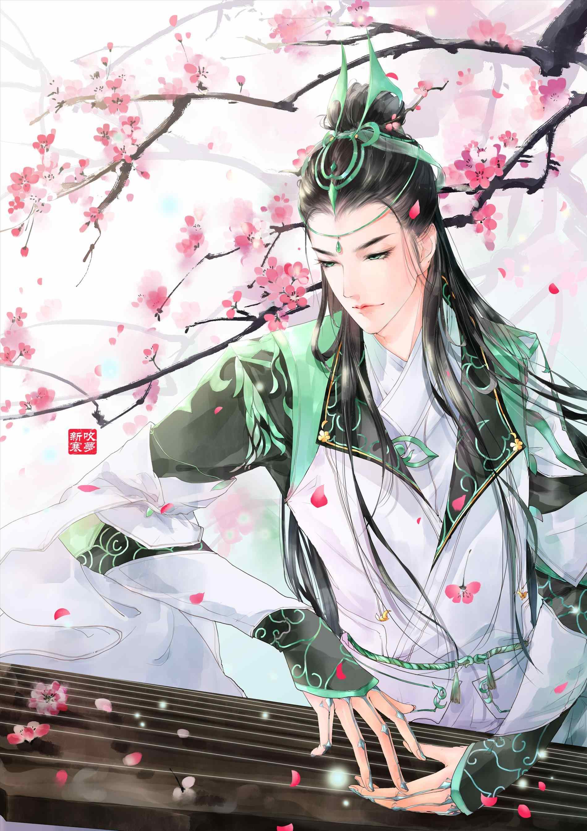 Chinese Anime Boy Wallpapers - Wallpaper Cave