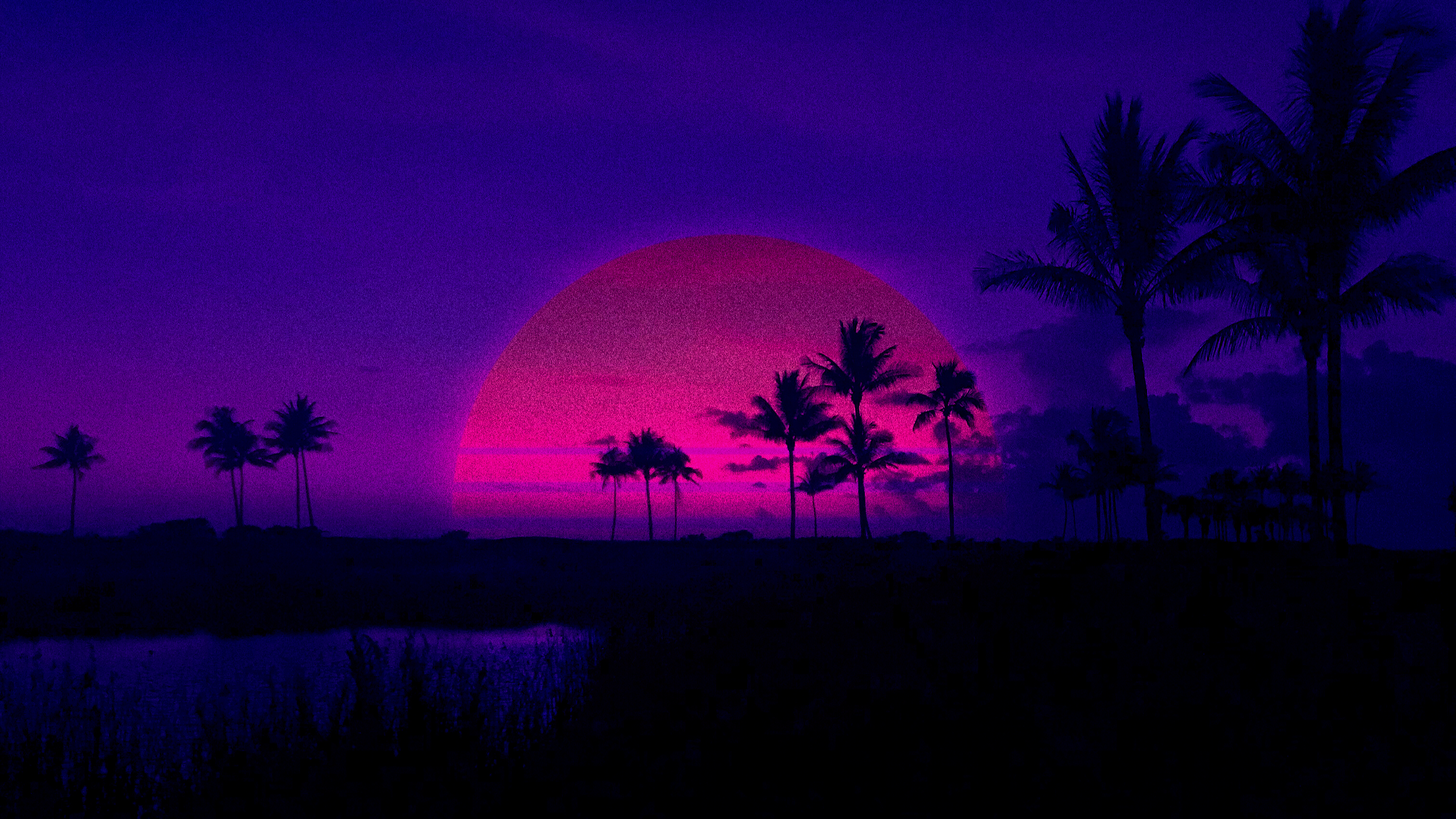 Aesthetic Sunset Pc Wallpapers Wallpaper Cave