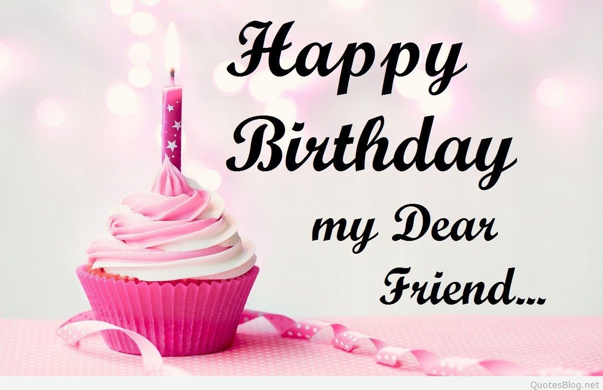 Happy Birthday Friend Wallpapers Wallpaper Cave