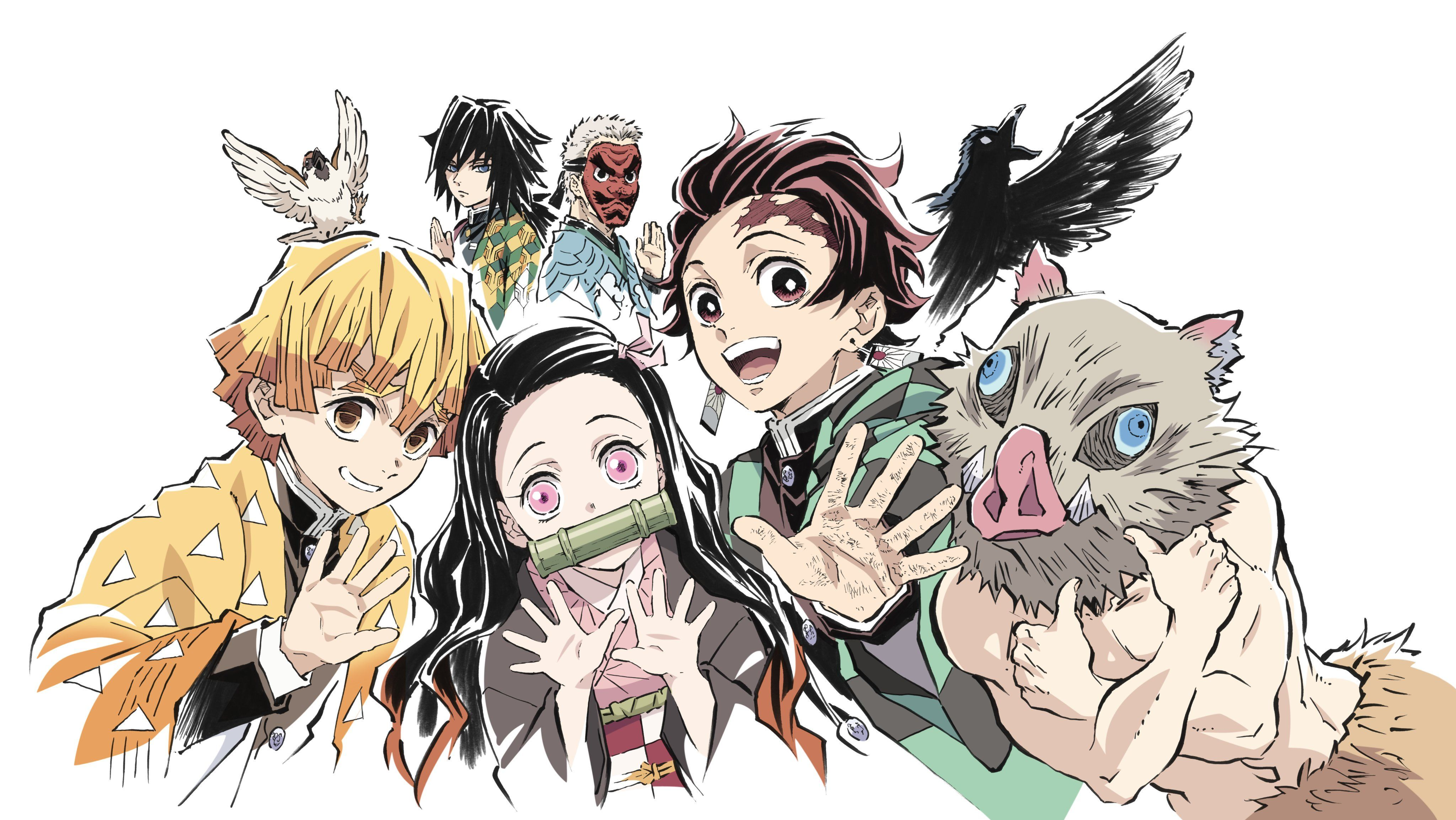 Ps4 Anime Girl Demon Slayer Wallpapers - Wallpaper Cave