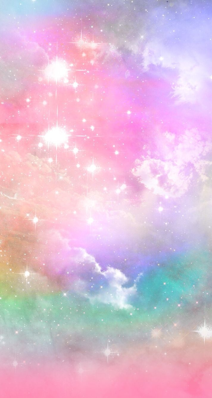 Rainbow Galaxy Wallpapers Wallpaper Cave