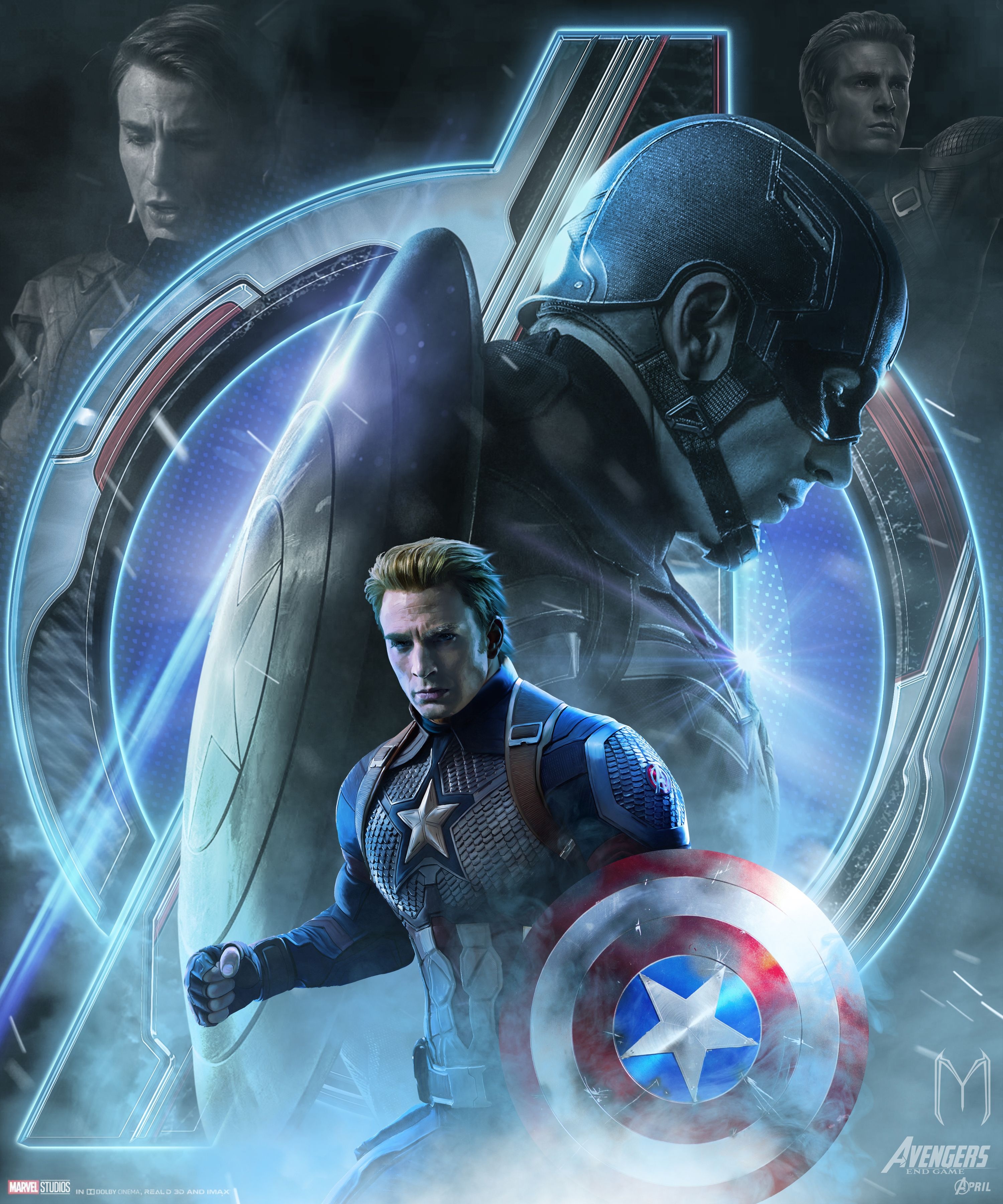 Captain America Poster Wallpapers - Wallpaper Cave