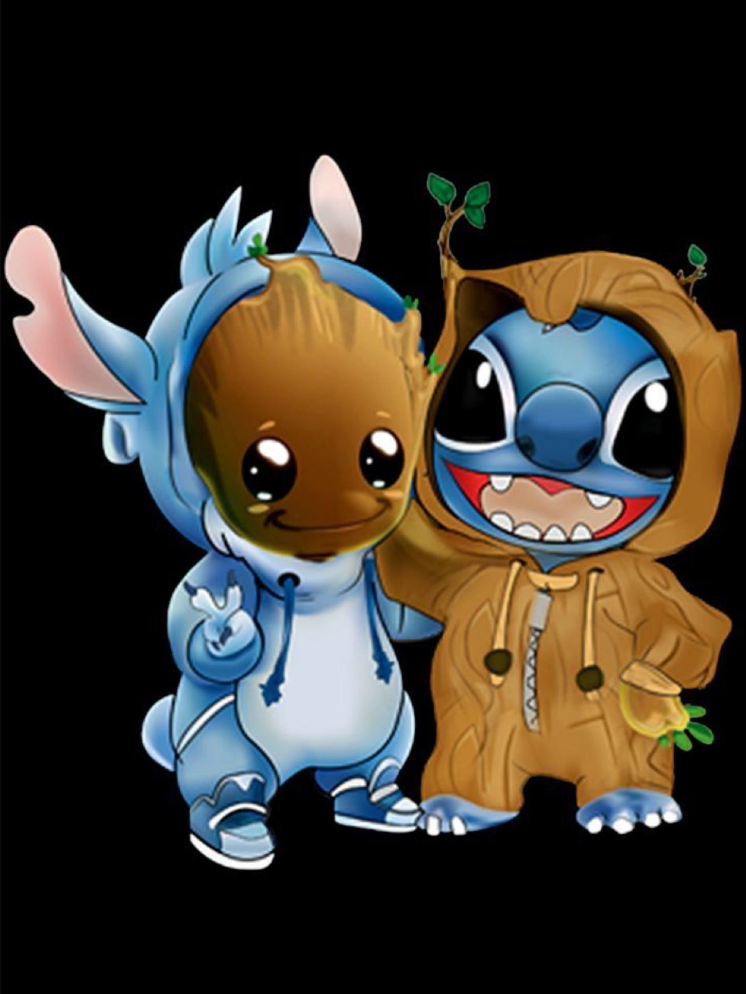 Baby Stitch Wallpapers Wallpaper Cave