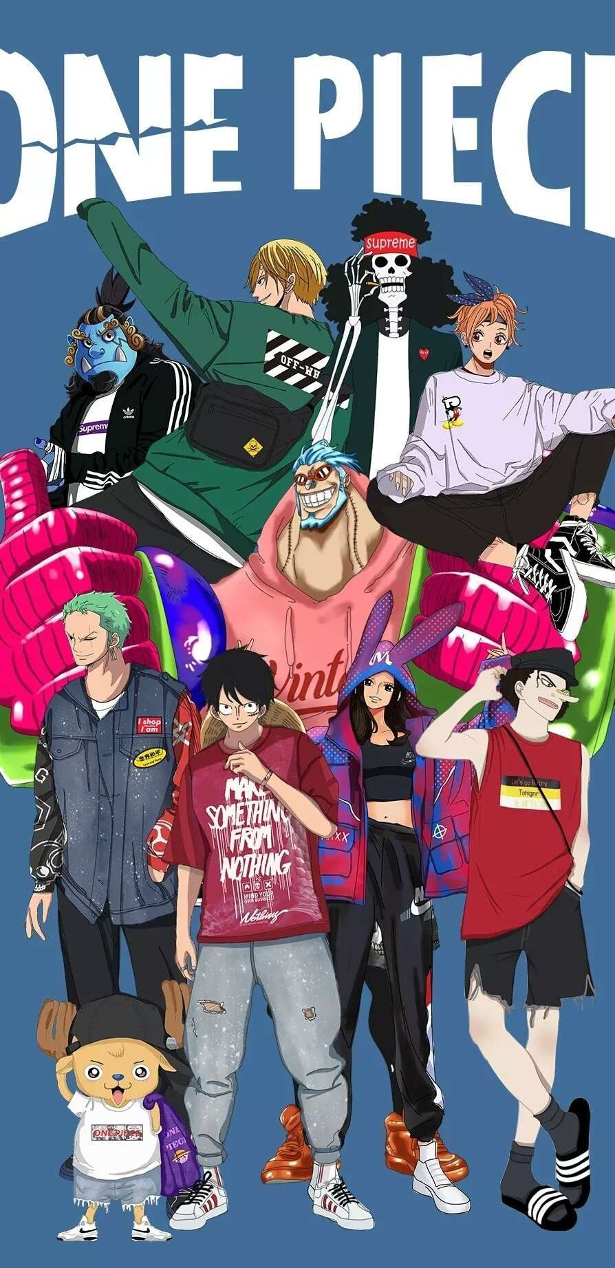 Supreme One Piece Wallpapers - Wallpaper Cave