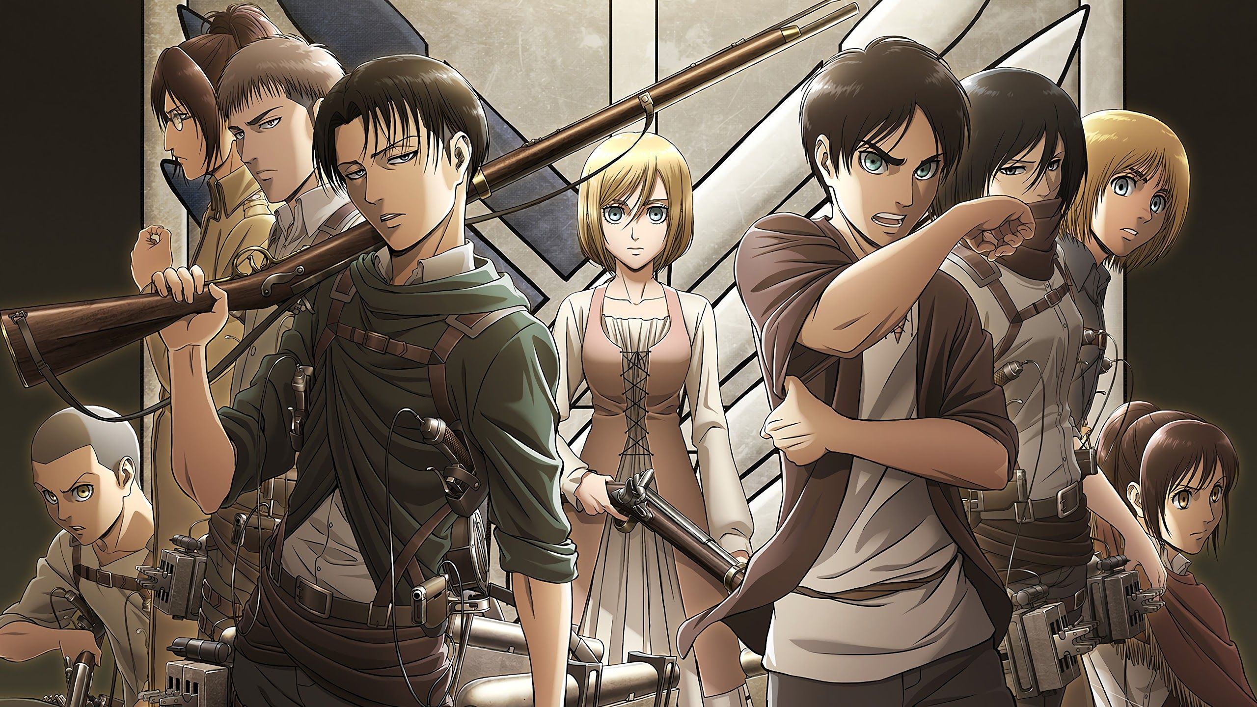 Levi Attack On Titan Wallpapers Wallpaper Cave