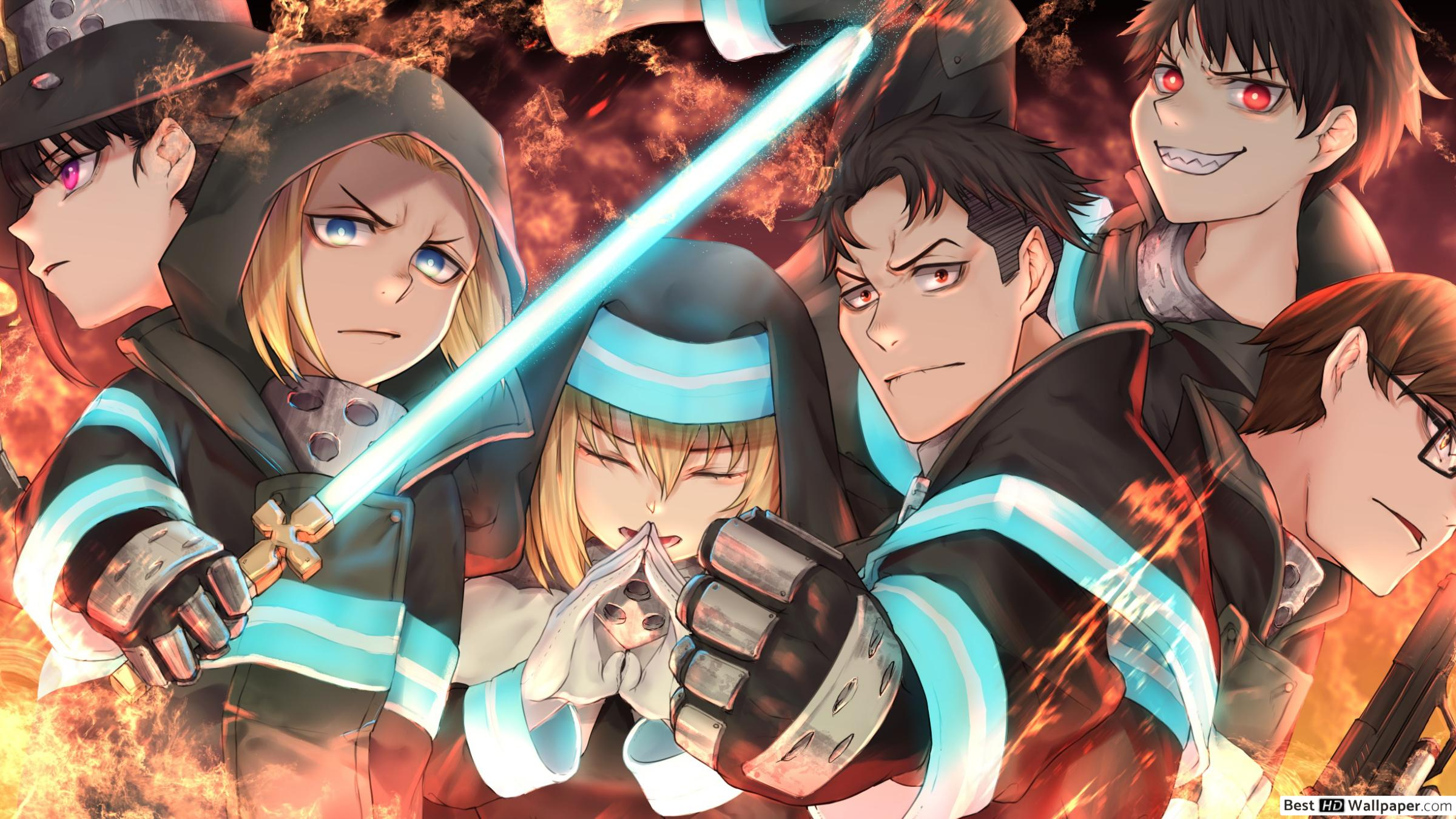 Fire Force Computer Wallpapers - Wallpaper Cave