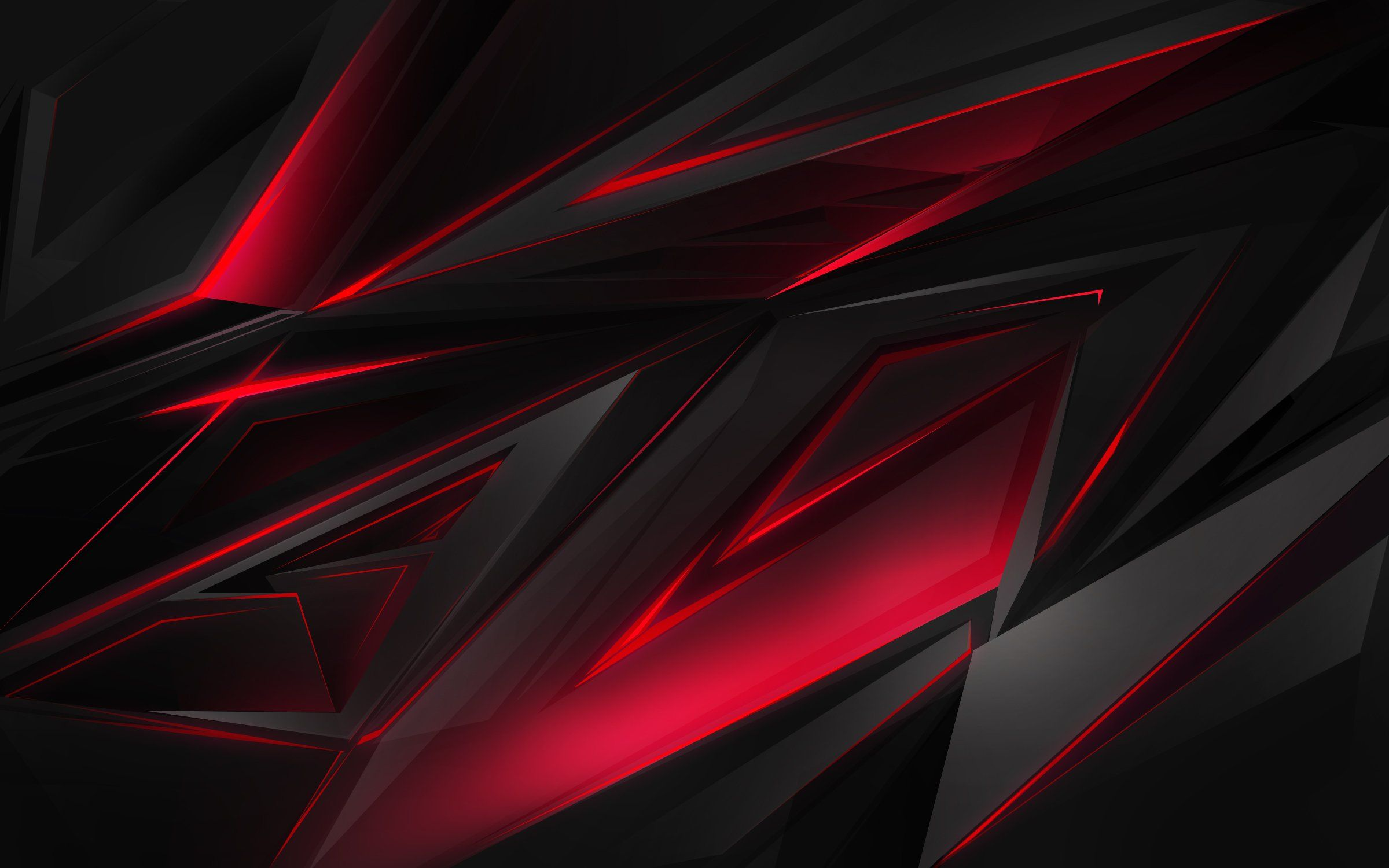 Black Red Shards Wallpapers Wallpaper Cave