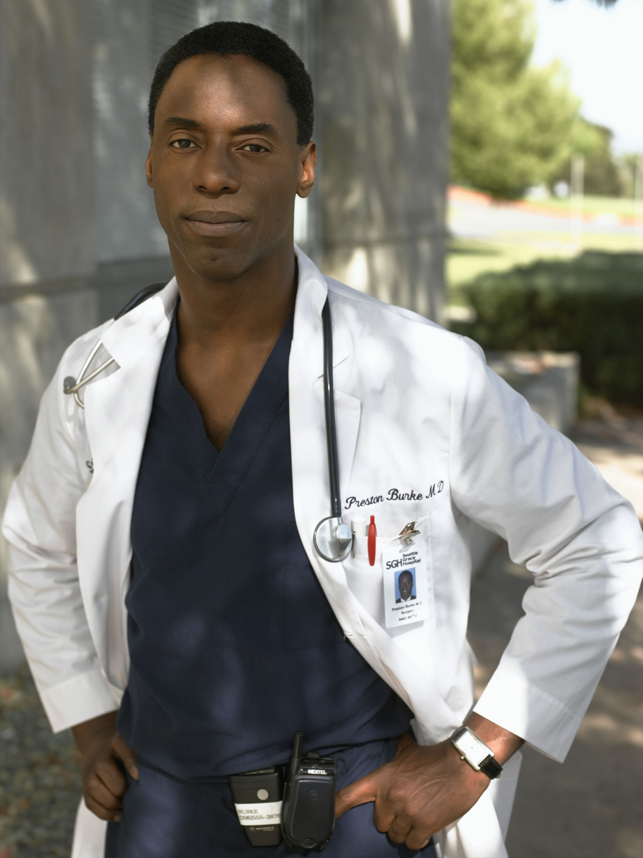 Dr. Preston Burke. Had a serious crush on him all through seasons