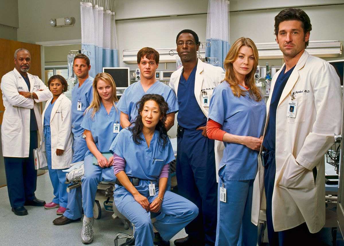 Grey's Anatomy' Behind