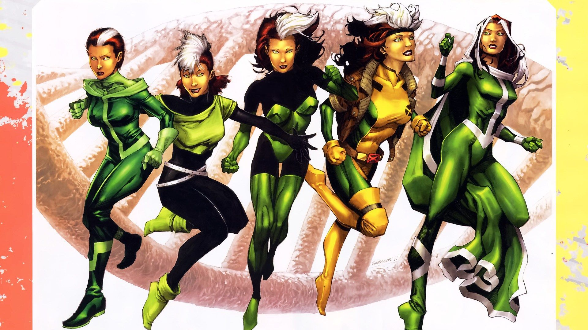 Evolution, Marvel, Rogue, X