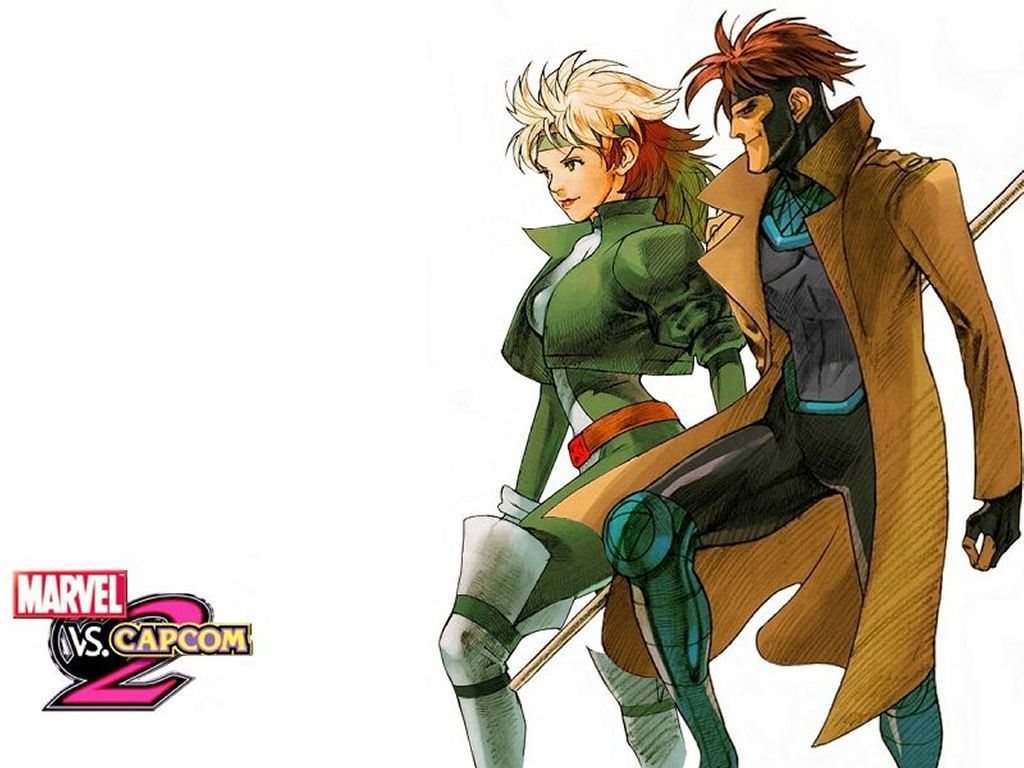 Comics Wallpapers : Rogue and Gambit