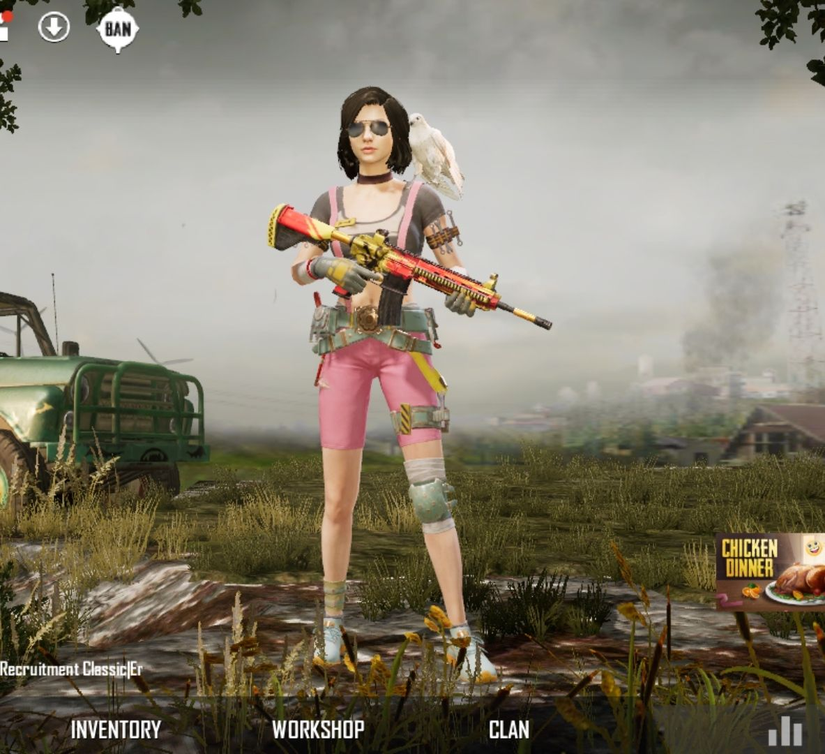 PUBG Mobile Sara Character HD Wallpapers