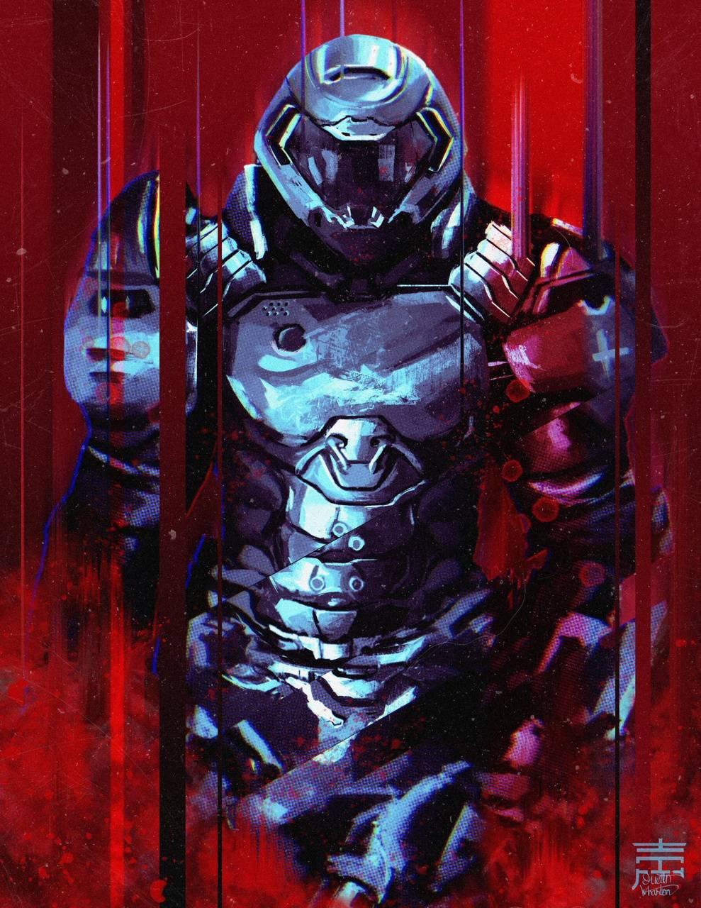 Doom Slayer Wallpapers - Wallpaper Cave