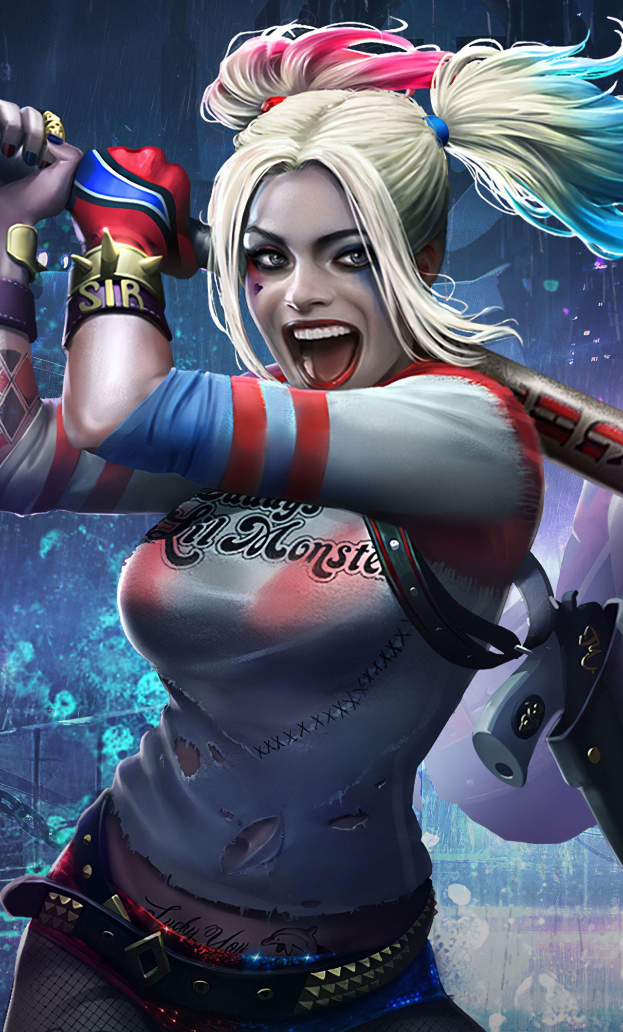 Harley Quinn HD Phone Wallpapers - Wallpaper Cave