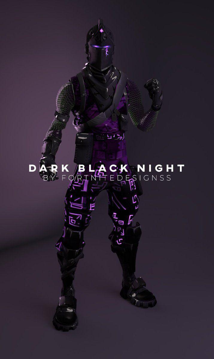 Dark Knight Fortnite Wallpapers Wallpaper Cave
