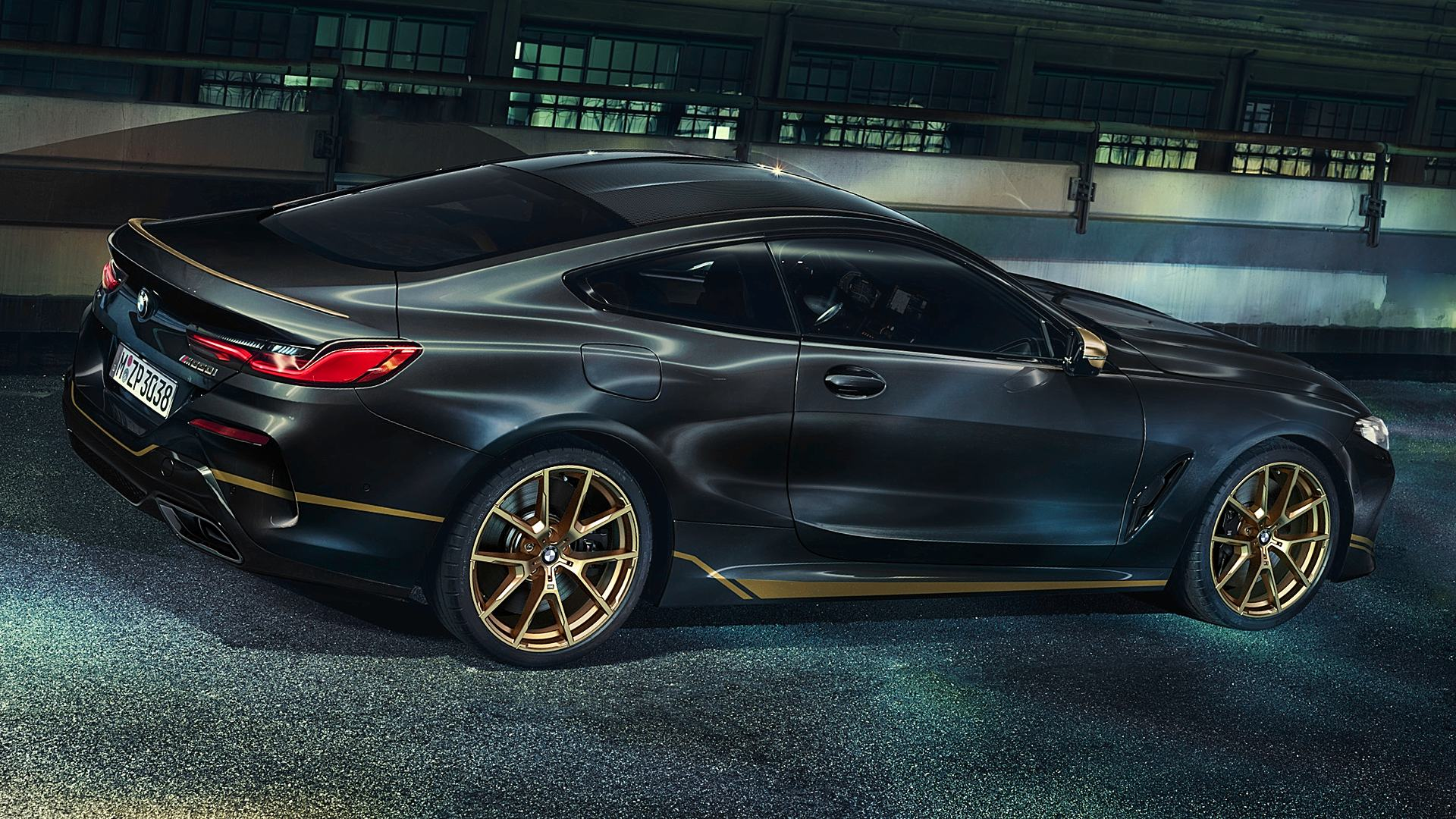 BMW M850i XDrive Coupe Edition Golden Thunder 2020 HD ...