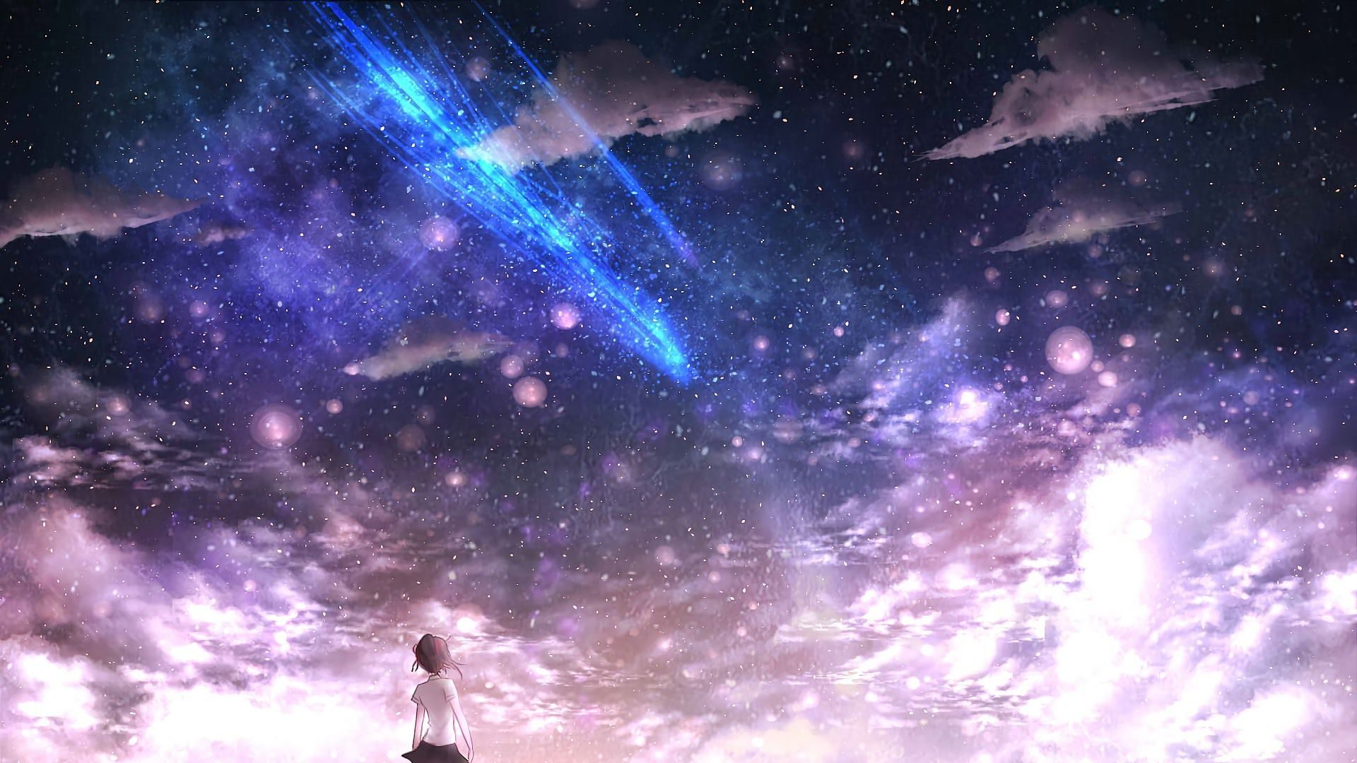 Cool Anime Galaxy Wallpapers - Wallpaper Cave