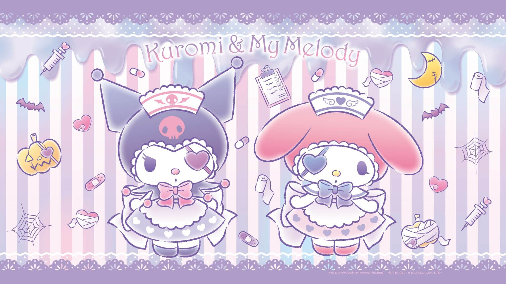 Kuromi Computer Wallpapers Wallpaper Cave