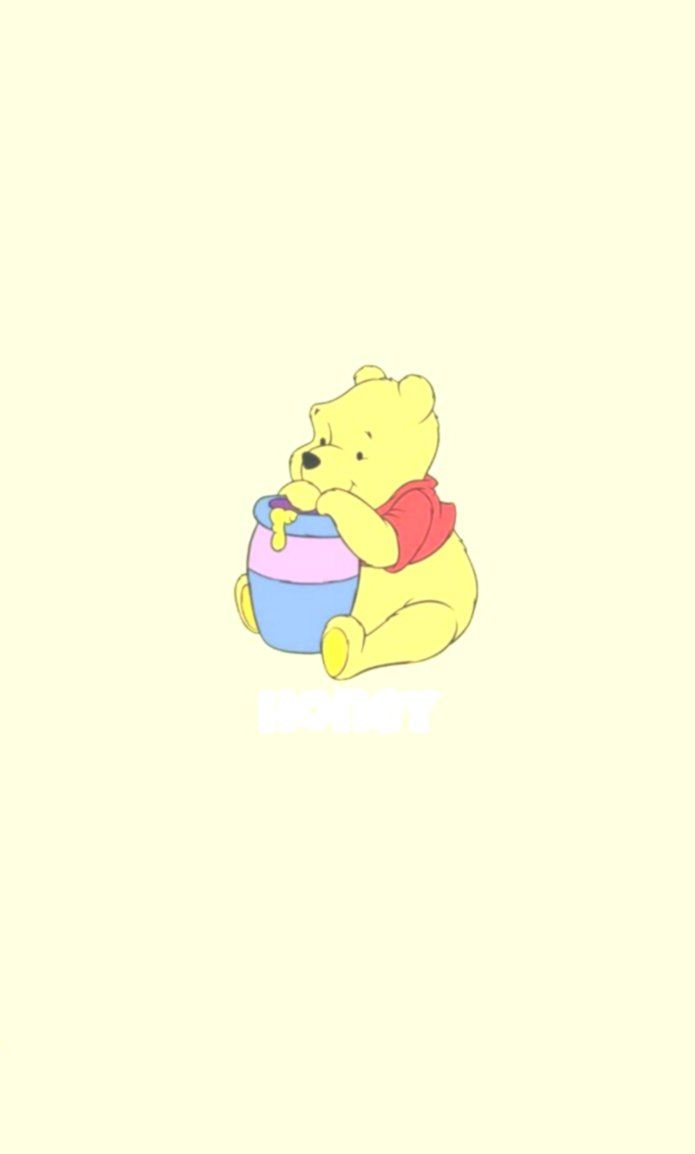 Aesthetic Yellow Winnie The Pooh Wallpapers Wallpaper Cave