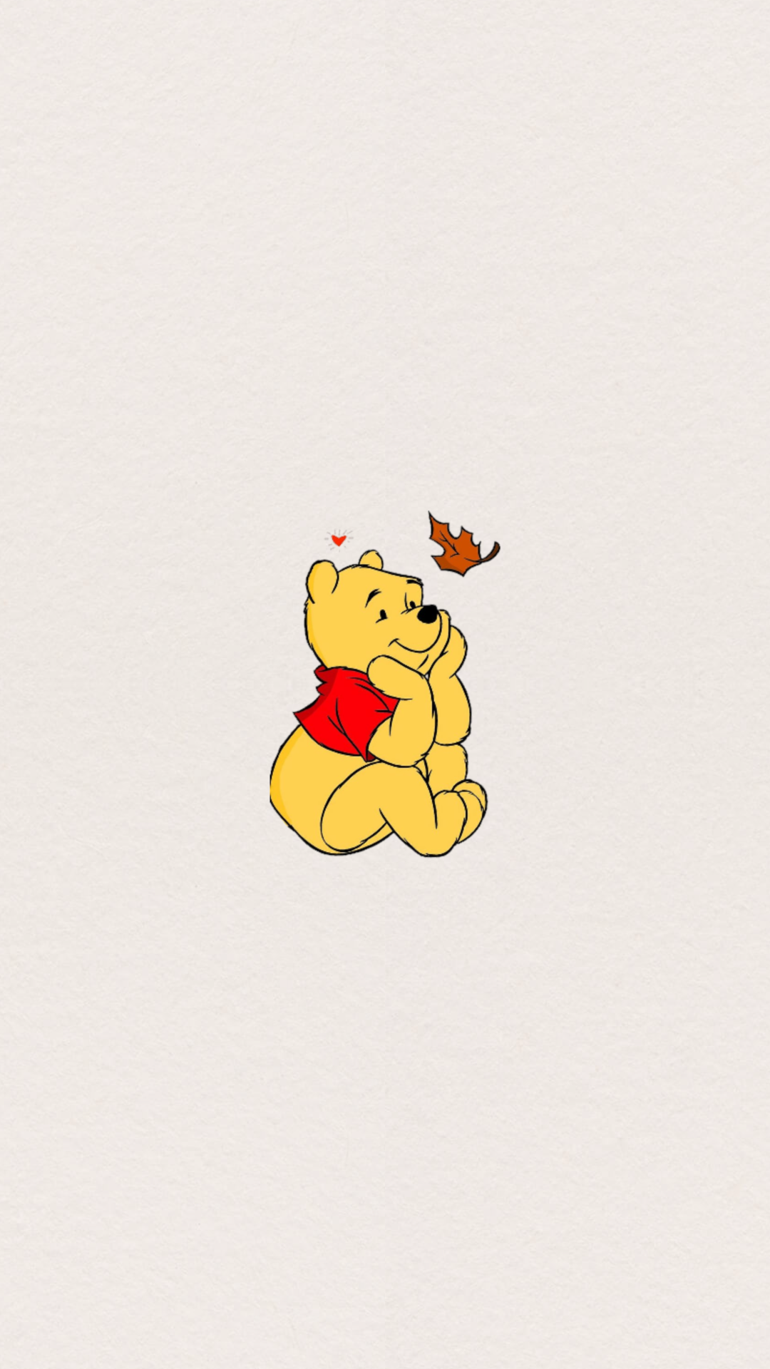 Aesthetic Yellow Winnie The Pooh Wallpapers - Wallpaper Cave