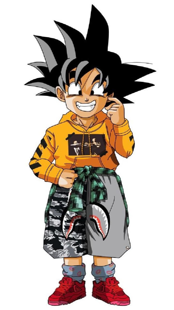 Supreme Anime Goku Wallpapers Wallpaper Cave