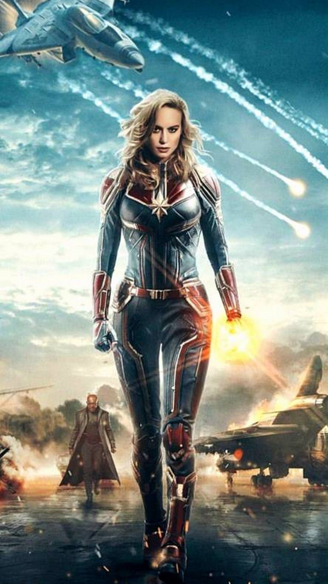 Captain Marvel Anime Wallpapers - Wallpaper Cave