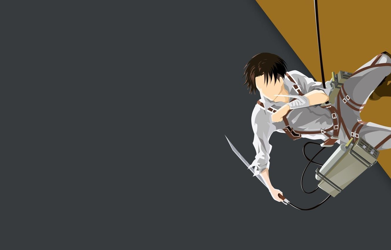 Attack On Titan Minimalist Pc Wallpapers Wallpaper Cave