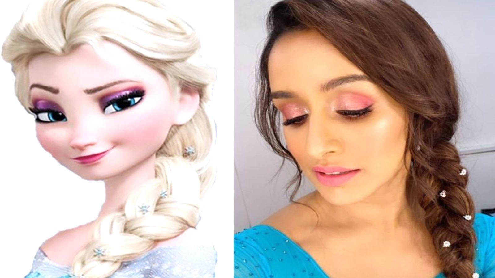 Shraddha Kapoor personifies Elsa from 'Frozen' for cousin Vedika's