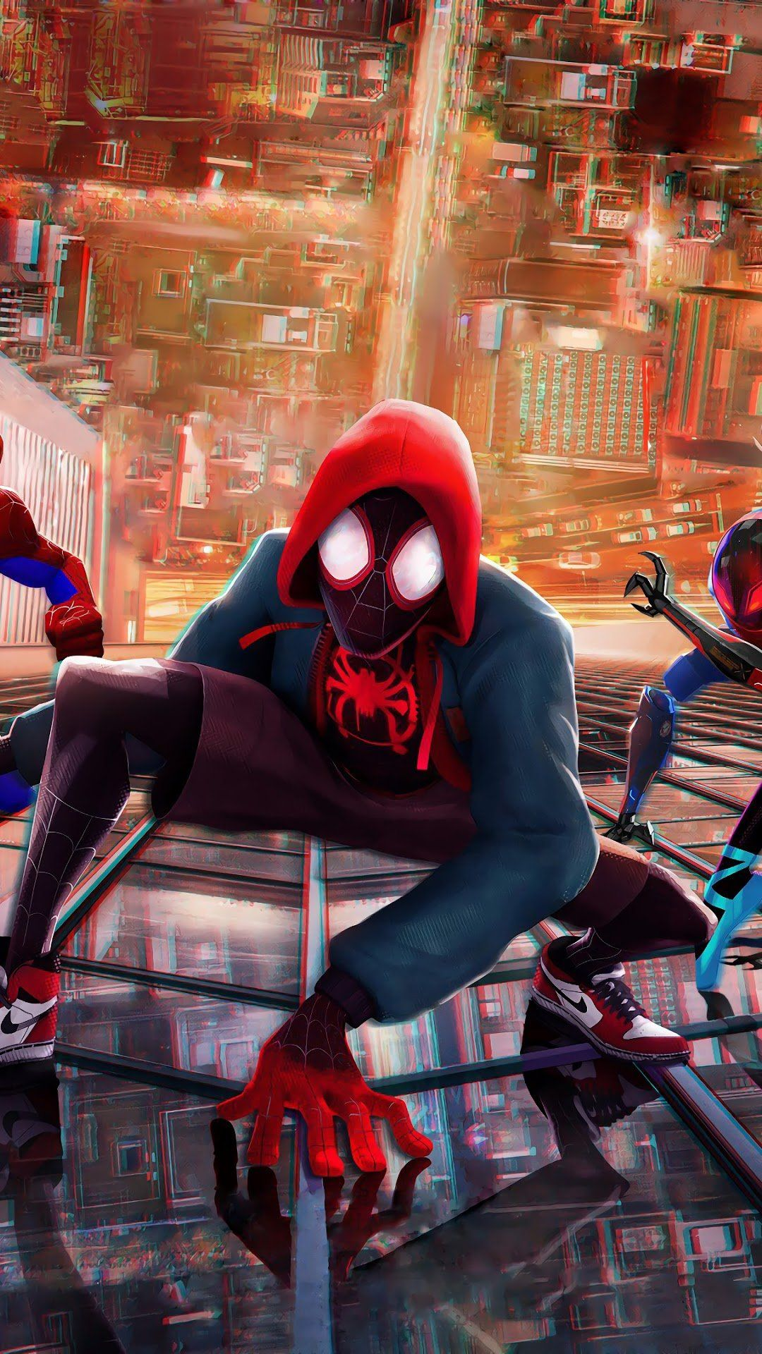 4K Anime Aesthetic Spider Verse Wallpapers - Wallpaper Cave