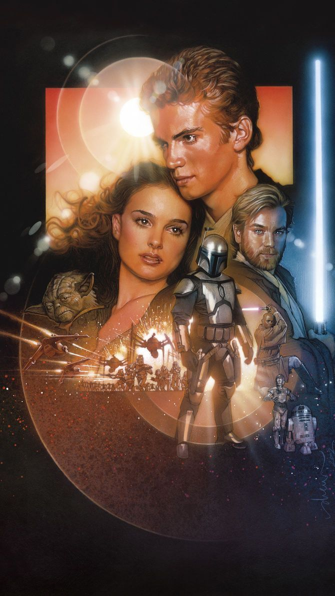 Attack Of The Clones Wallpapers Wallpaper Cave