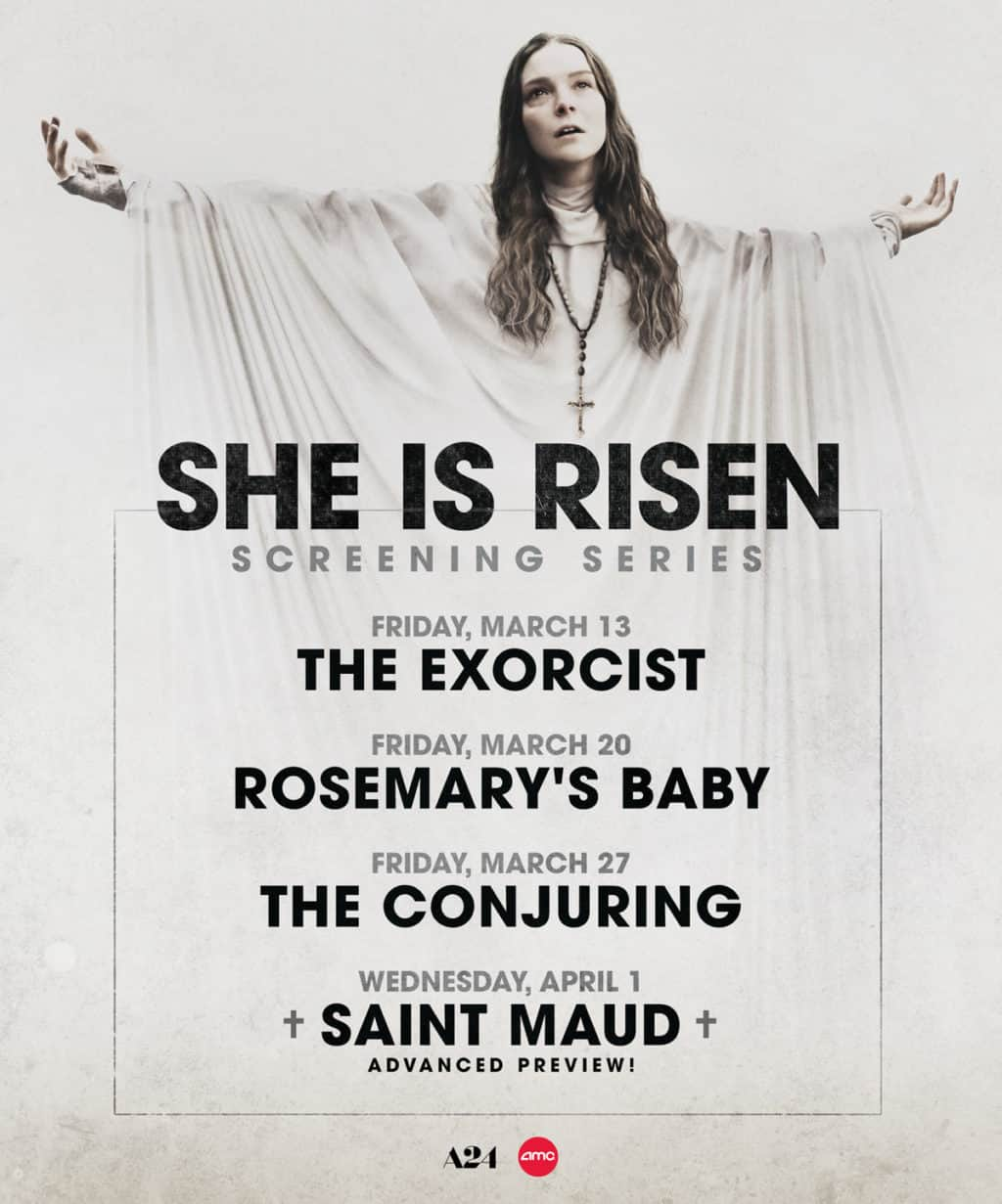 AMC & A24 Presents SAINT MAUD She is Risen Screening Series