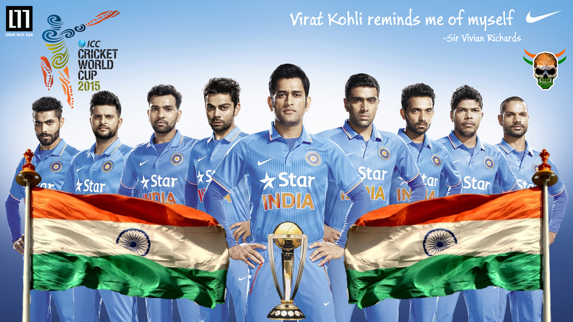 26 Pledge support for the Indian Cricket team by using this HD