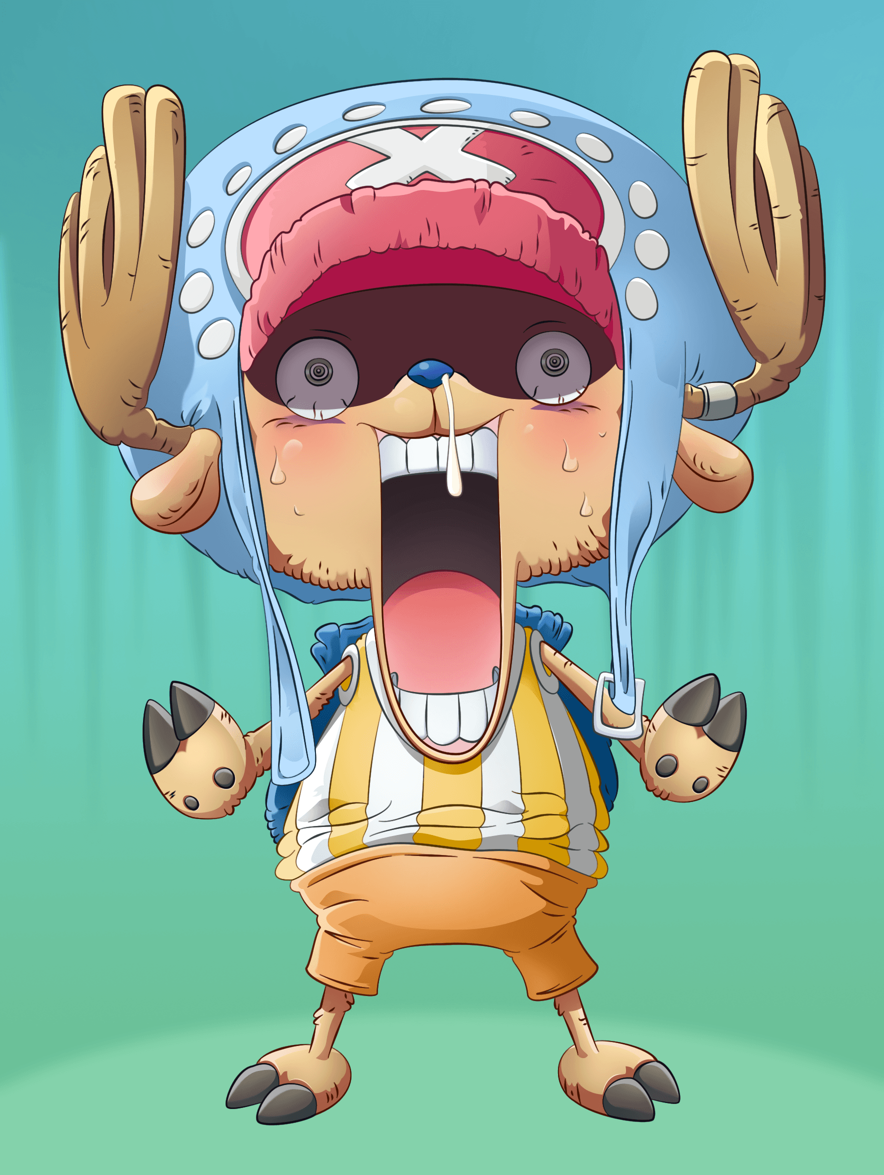 One Piece Chopper Wallpapers Wallpaper Cave