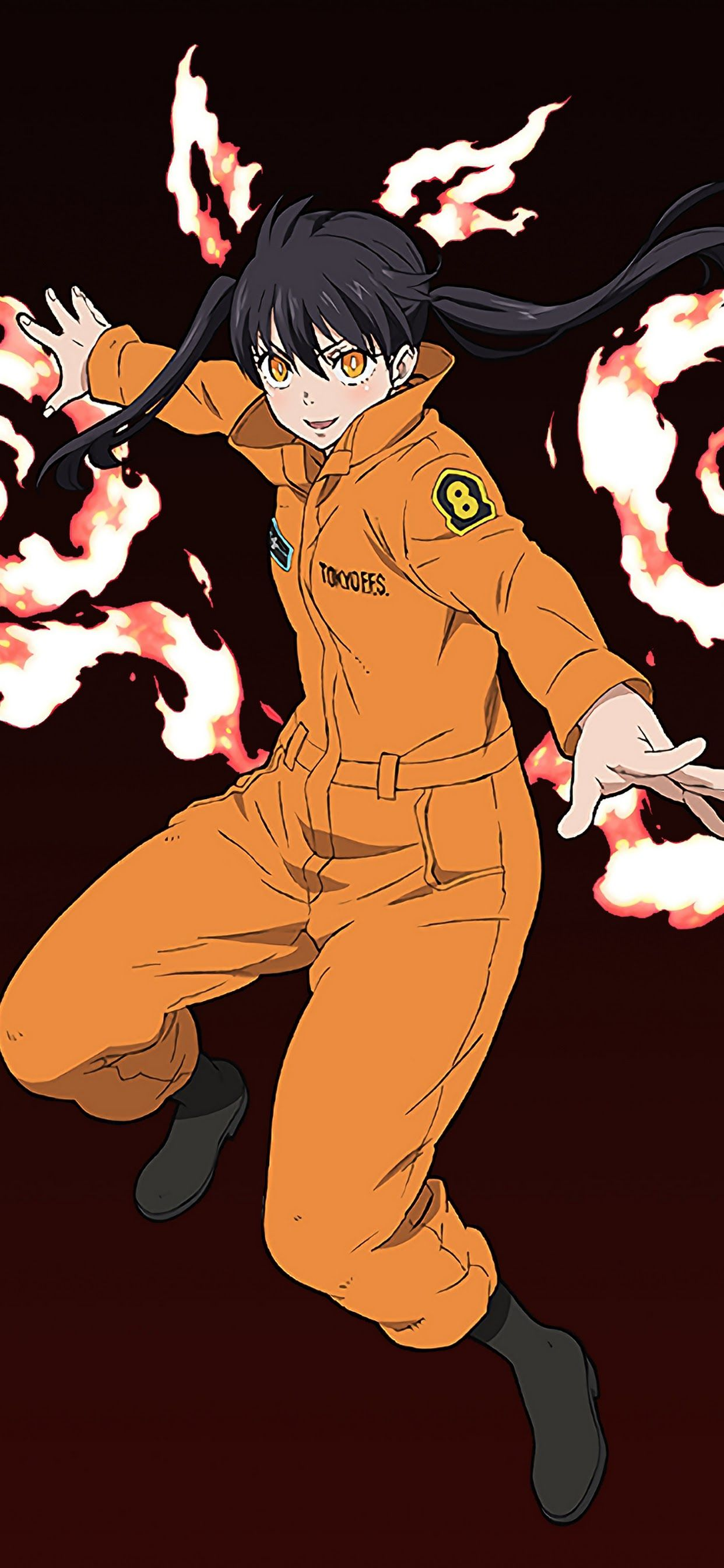 Fire Force Iphone 11 Wallpapers Wallpaper Cave Select your favorite images and download them for use as wallpaper for your desktop or phone. fire force iphone 11 wallpapers