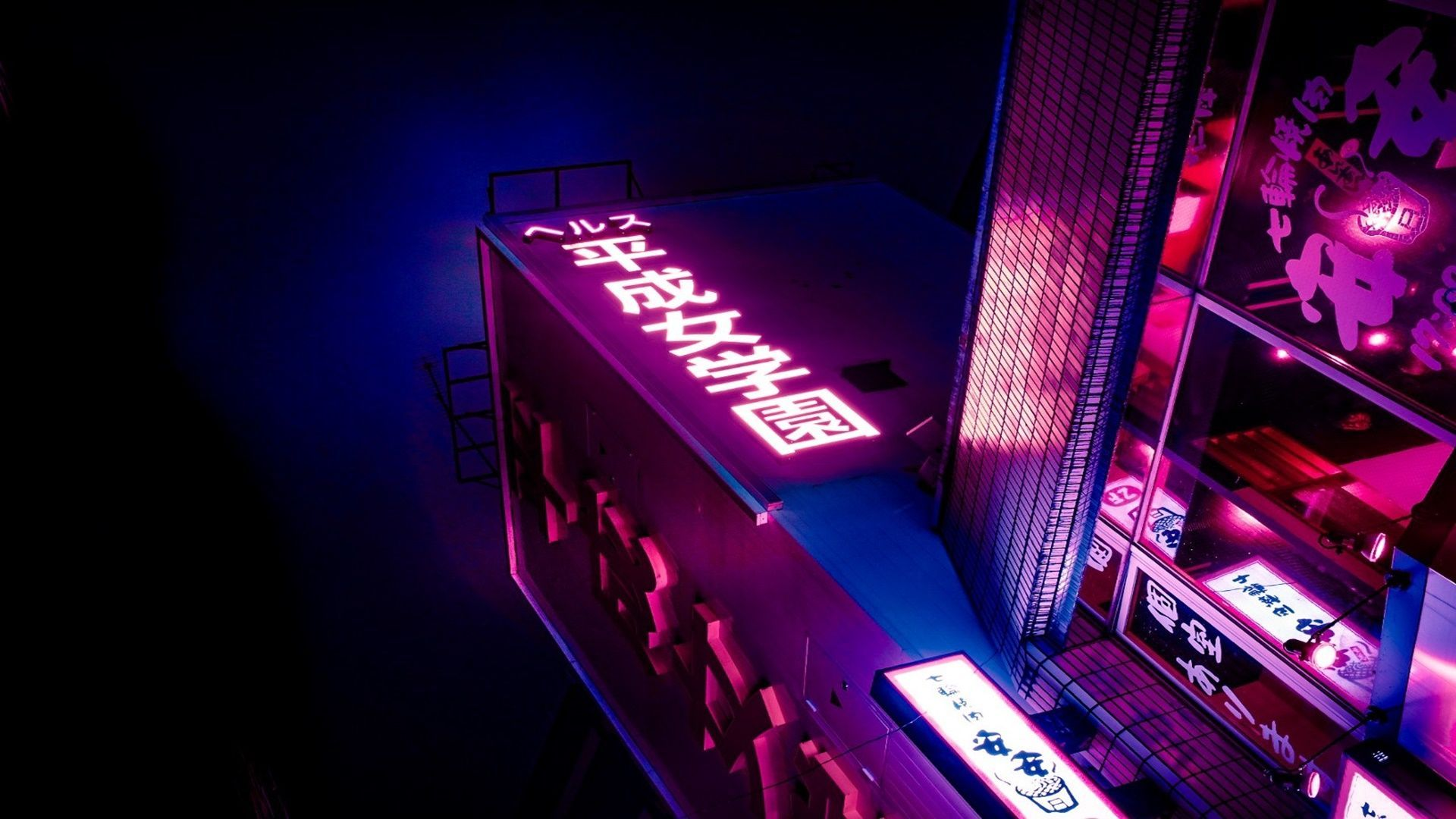 Neon Aesthetic Laptop Wallpapers Wallpaper Cave