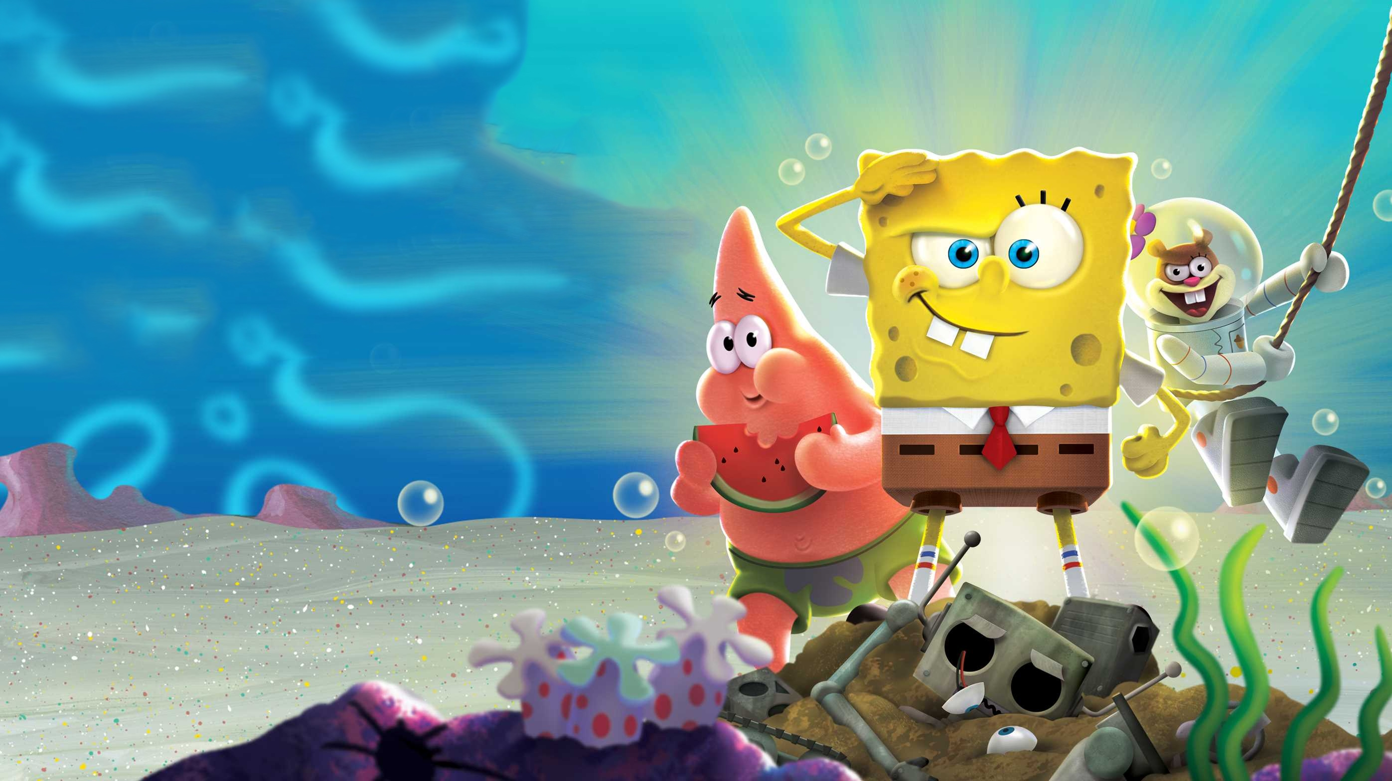 Spongebob Underwater Wallpapers - Wallpaper Cave