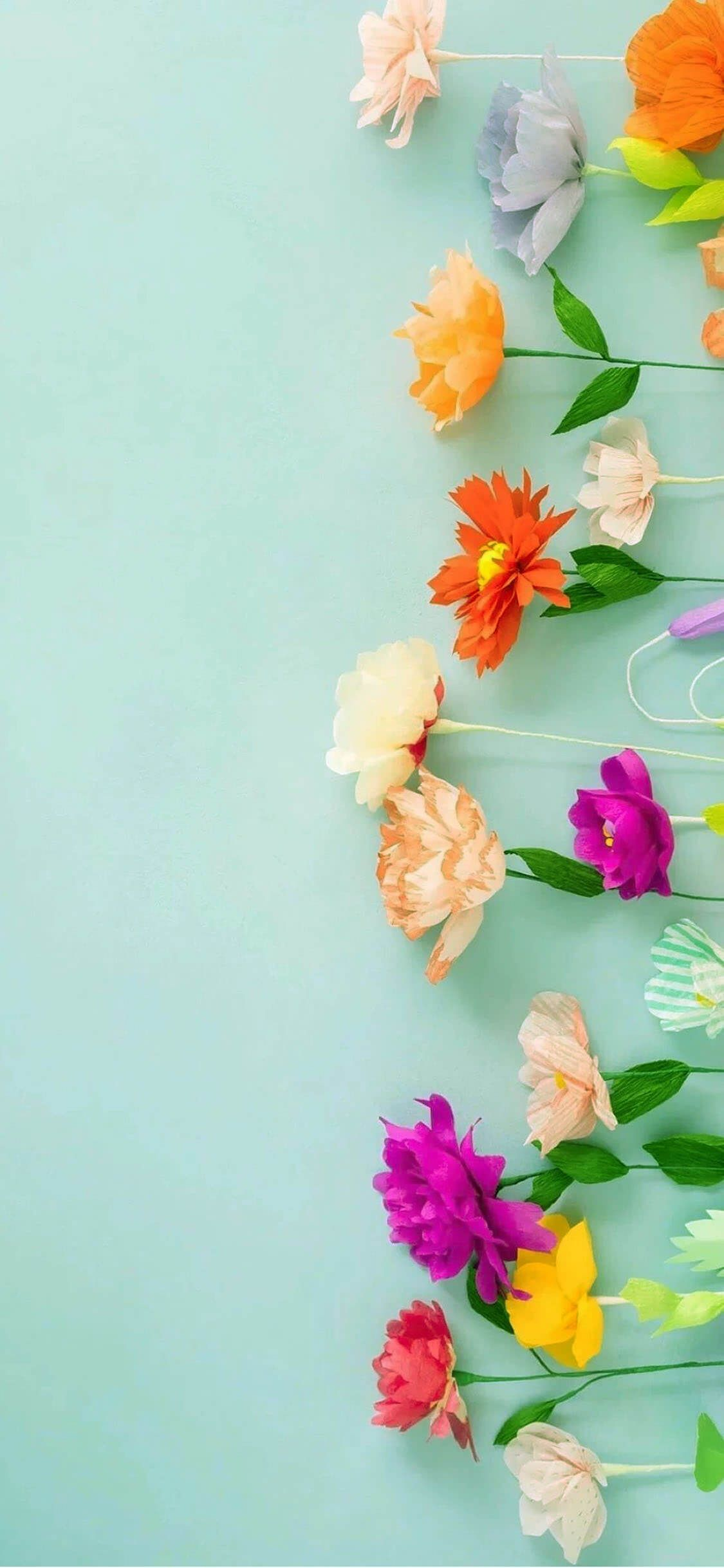 aesthetic 3d flower iphone wallpapers
