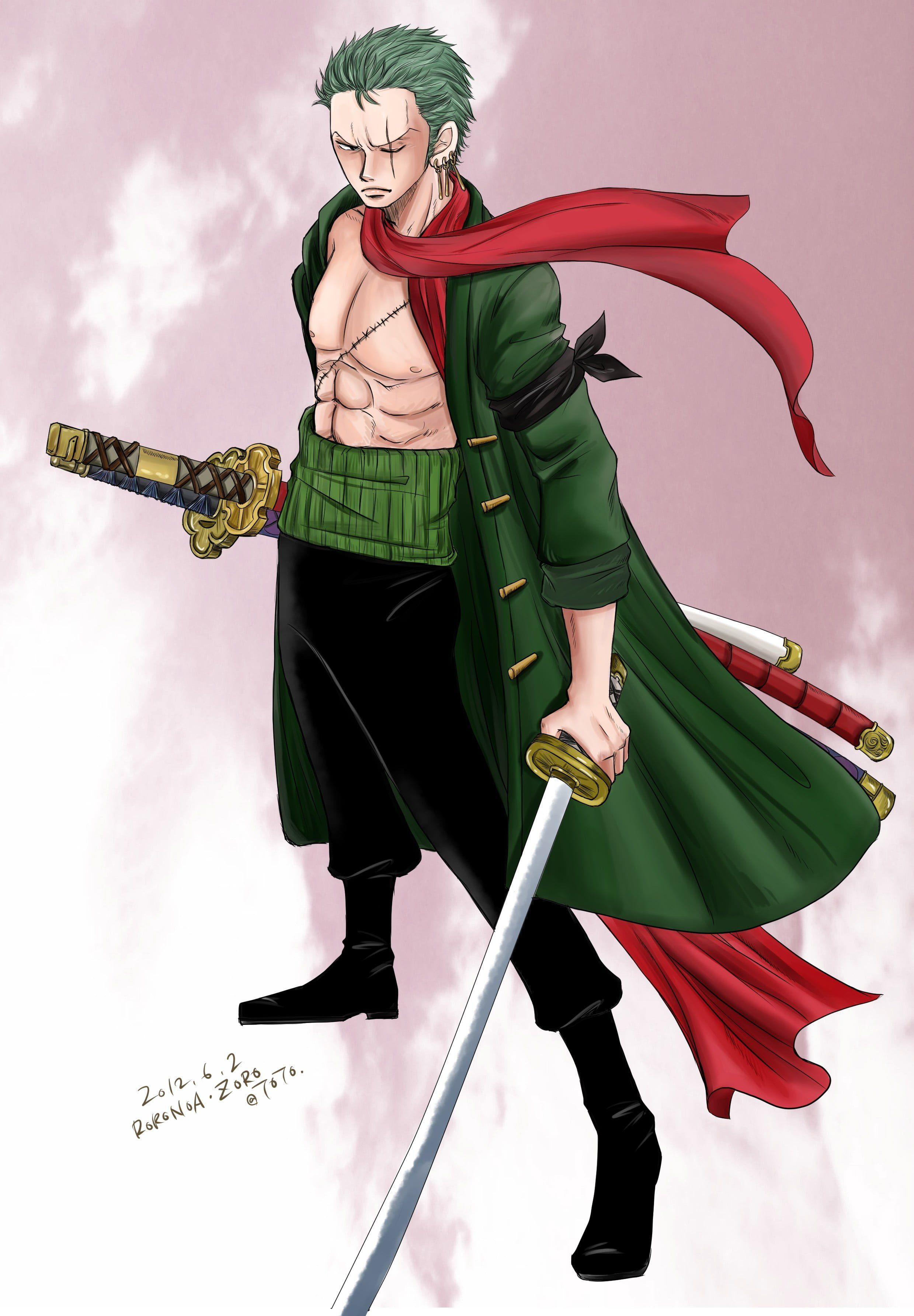 Zoro One Piece Hd Android Wallpapers Wallpaper Cave