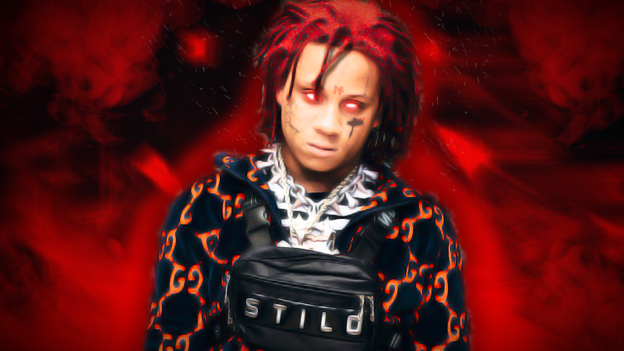 Trippie Redd Close Up Wallpapers - Wallpaper Cave