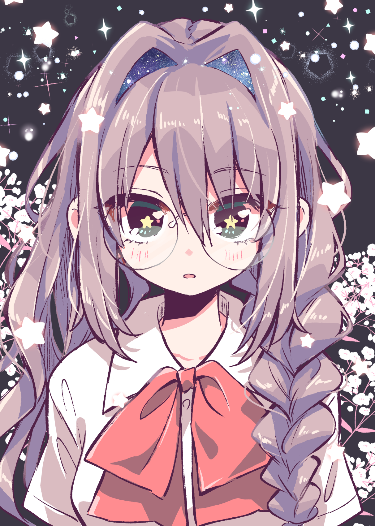 Cute Anime Girls Glasses Wallpapers - Wallpaper Cave