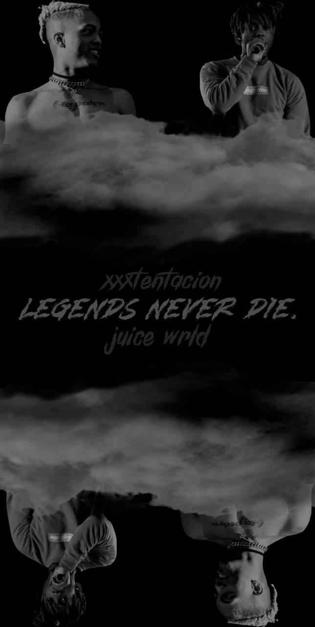 Legends Never Die Juice Wrld Wallpapers Wallpaper Cave